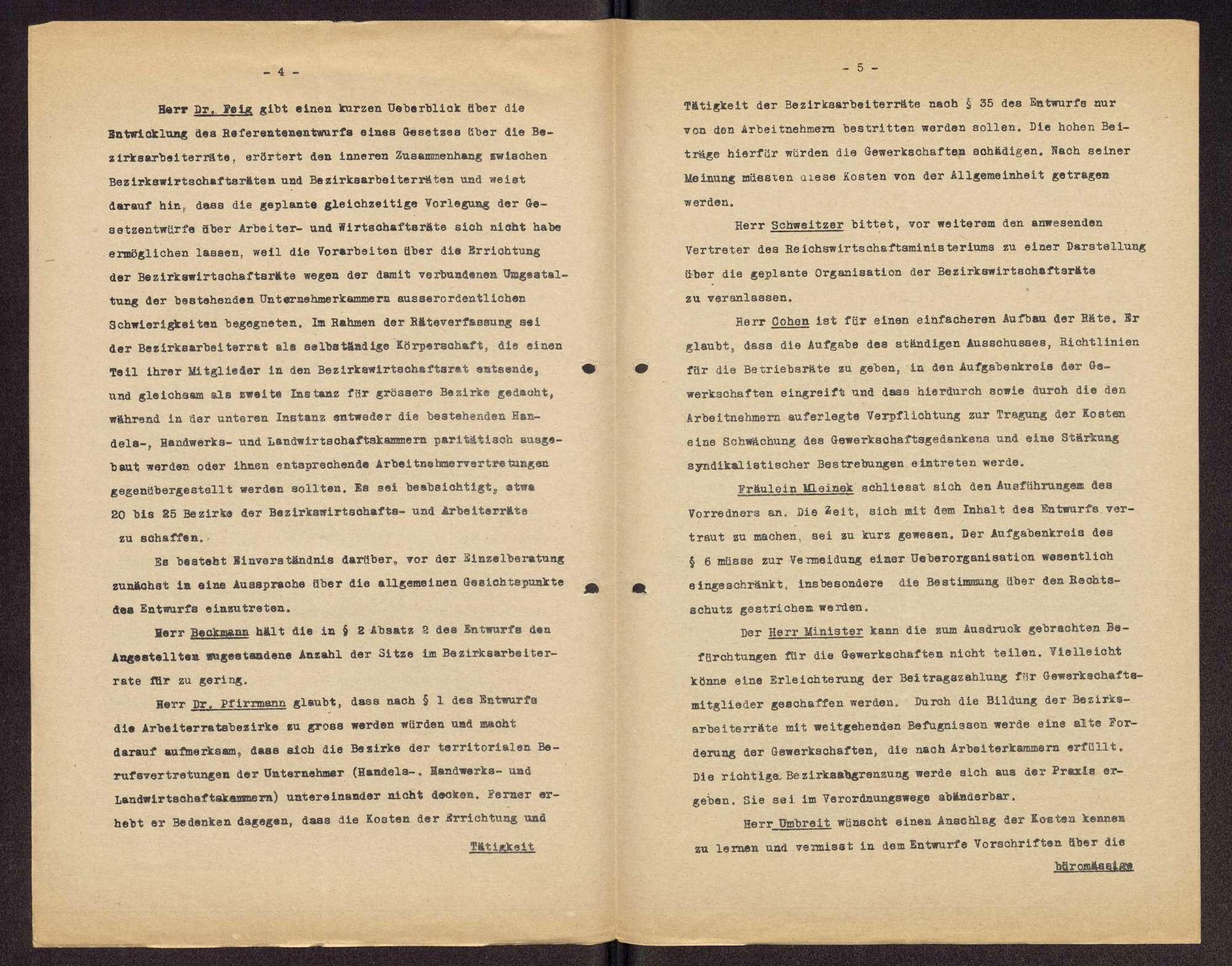 Teilnahme an den Kongressen der Arbeiter-, Bauern- und Soldatenräte v. 16.-20.12.1918 (1. Rätekongress) und v. 8.-14.4.1919 (2. Rätekongress) in Berlin und Tätigkeit als Mitglied des Zentralrats der deutschen Arbeiterräte, Bild 3