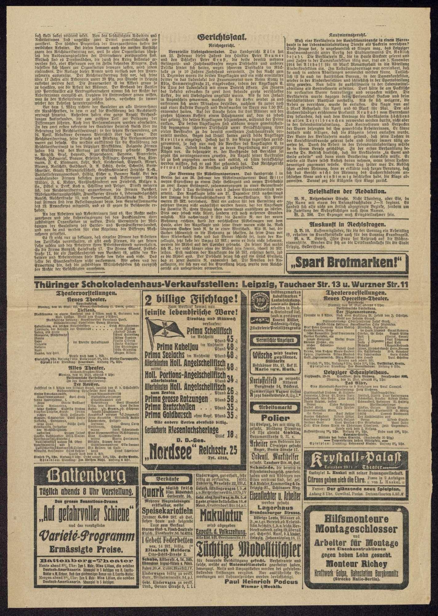 Haltung der Sozialdemokratie bei Kriegsanbruch und während des 1. Weltkriegs, Bild 3