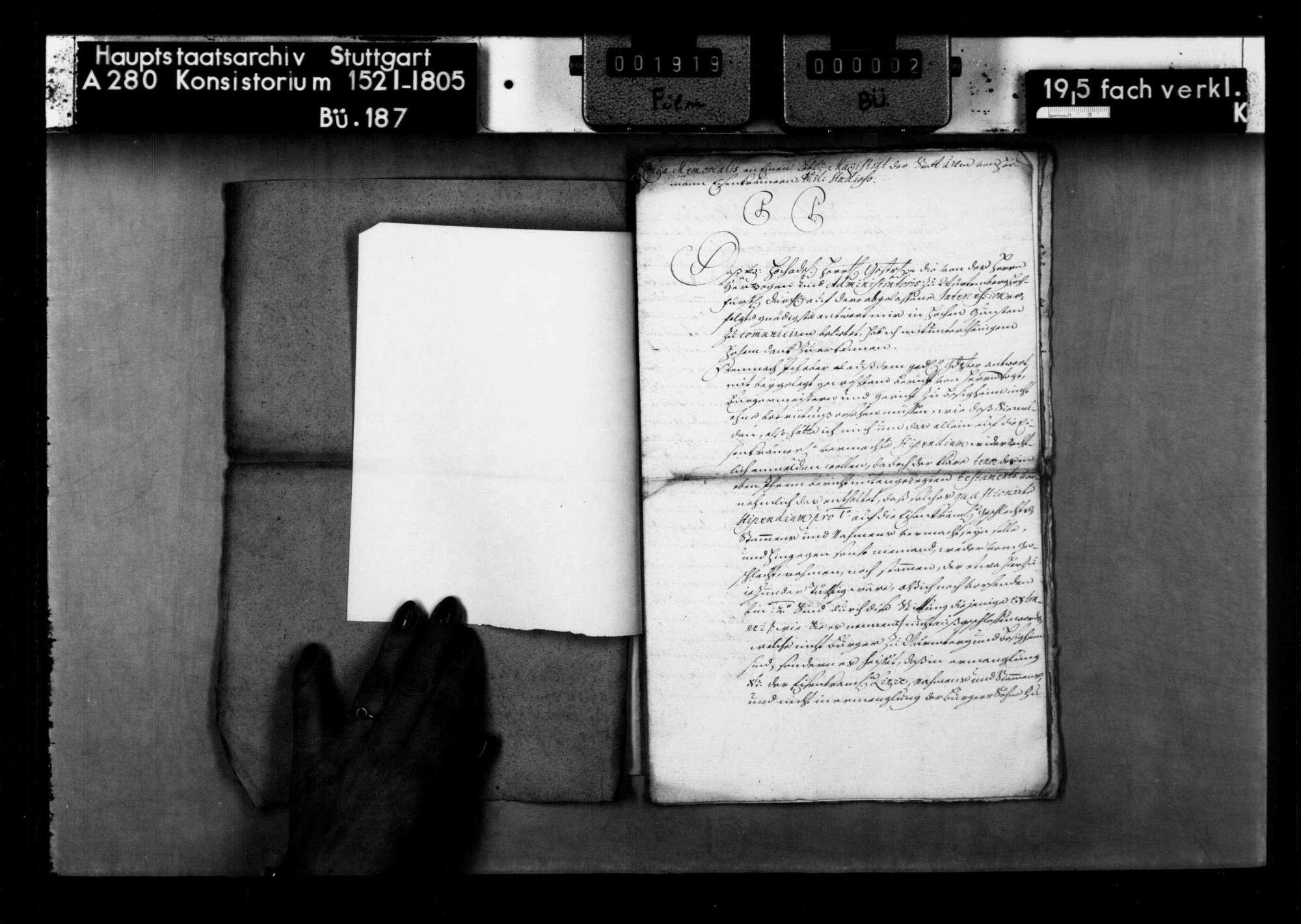 Anträge auf das Legat des Lukas Eisenkrämer, Bürgers und Ratsverwandten zu Nürnberg, für studierende Bürgersöhne von Nürnberg und Besigheim aus seinem Geschlecht oder seiner Verwandtschaft, Bild 3
