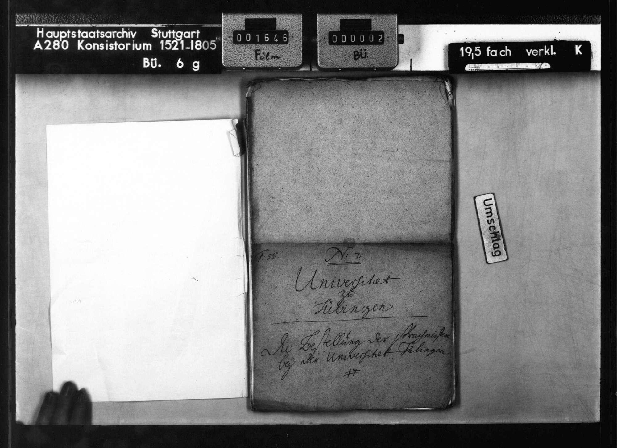 Bestellung der Sprachmeister (Sprachlehrer) an der Universität Tübingen, Bild 2