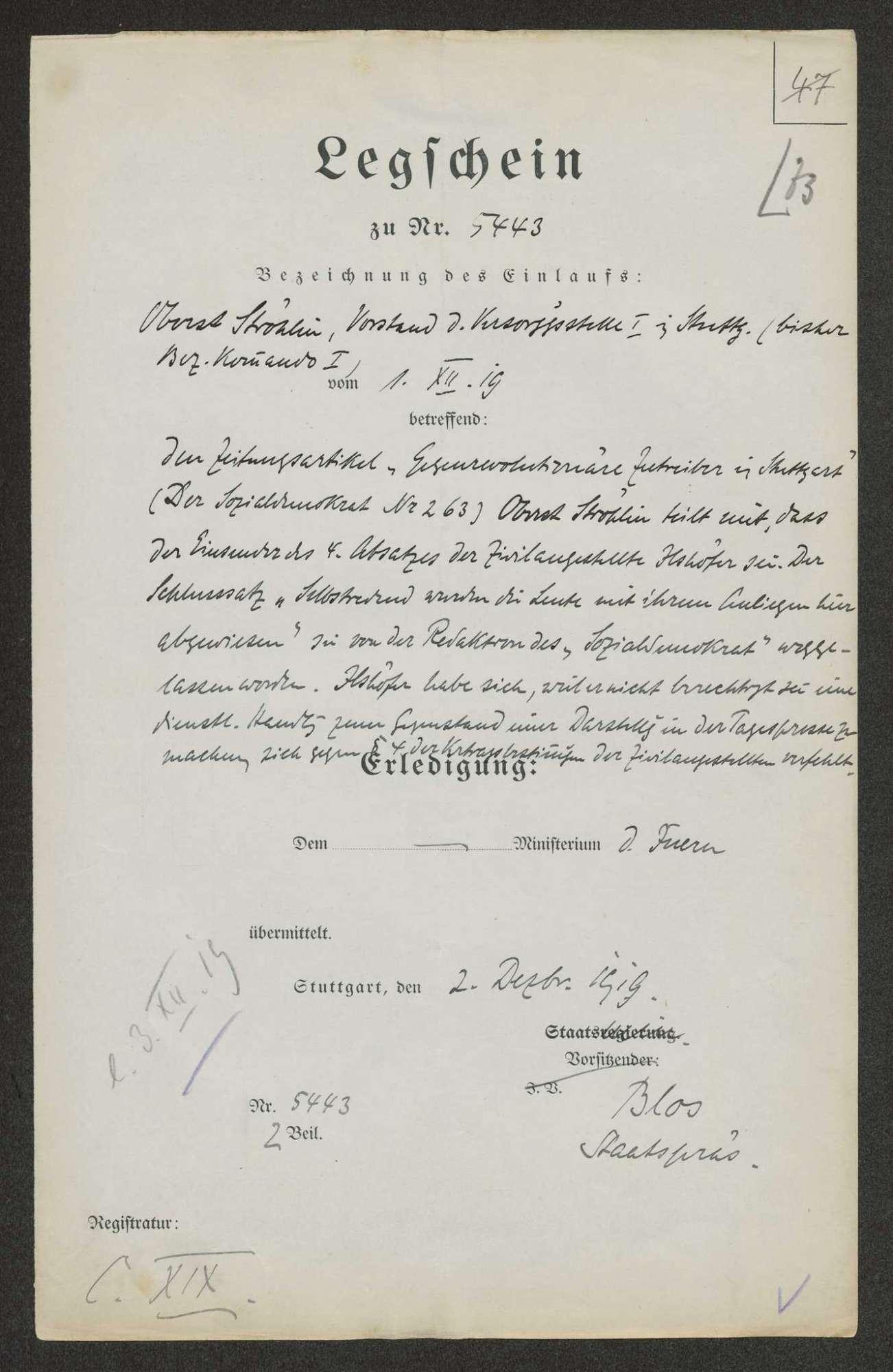 Staatsumwälzung am 09. November 1918, Bild 3