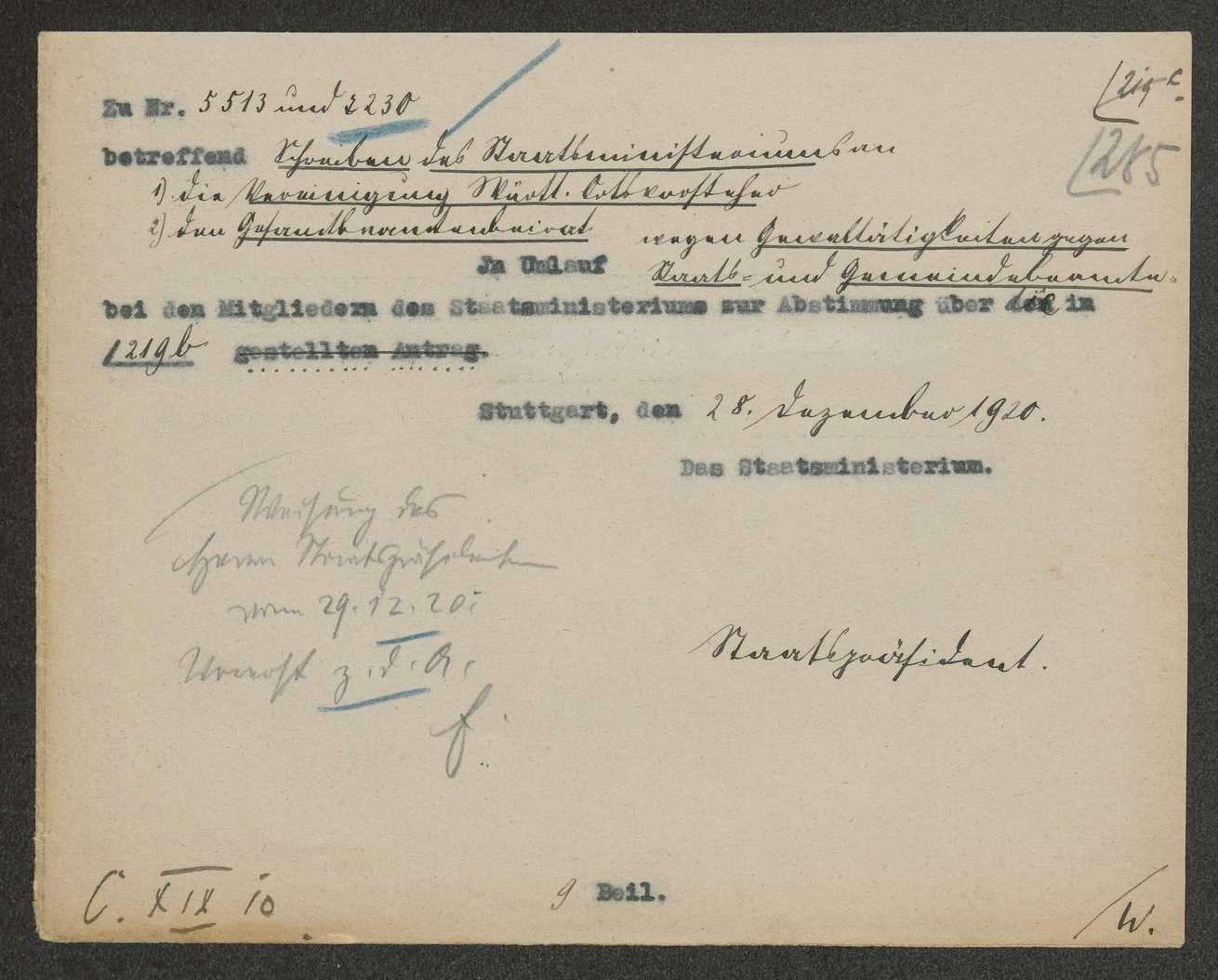 Innere Unruhen: Generalstreik vom 26. August bis 04. September 1920, Bild 1