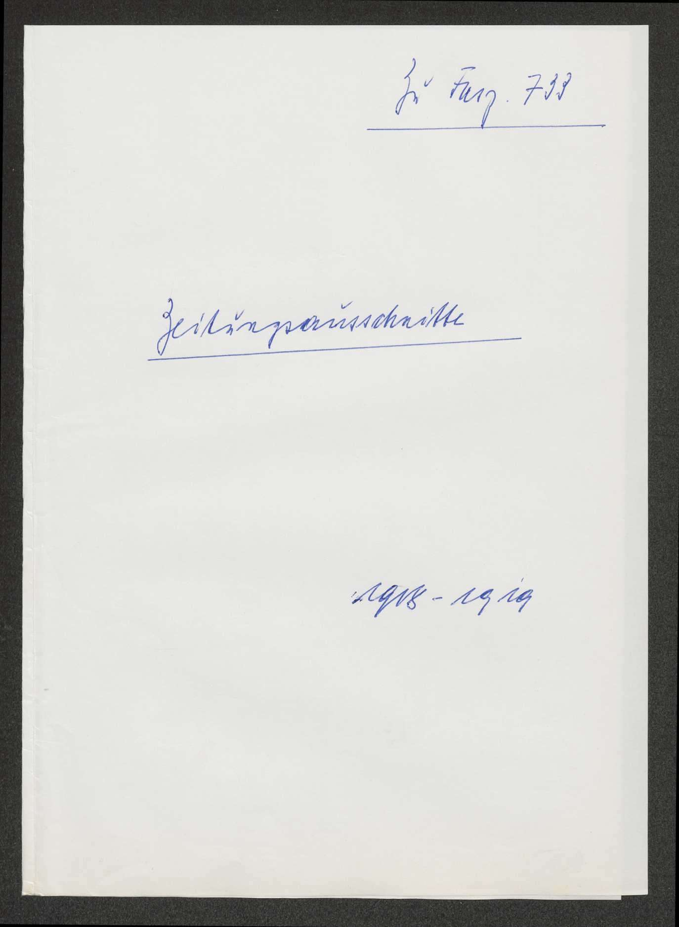 Staatsumwälzung: Verfassunggebende deutsche Nationalversammlung, Bild 1