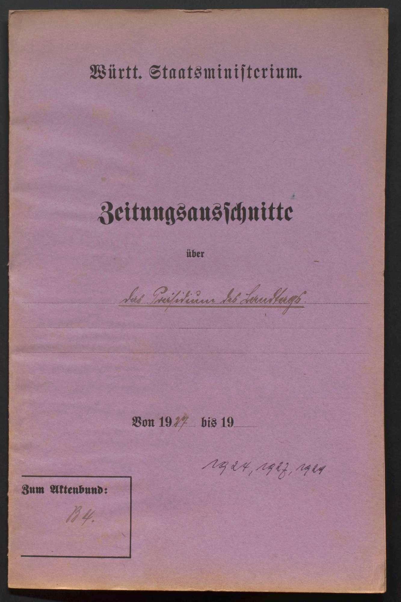 Präsidium, Wahl des Landtagspräsidenten, des Vizepräsidenten und der Schriftführer, Bild 2