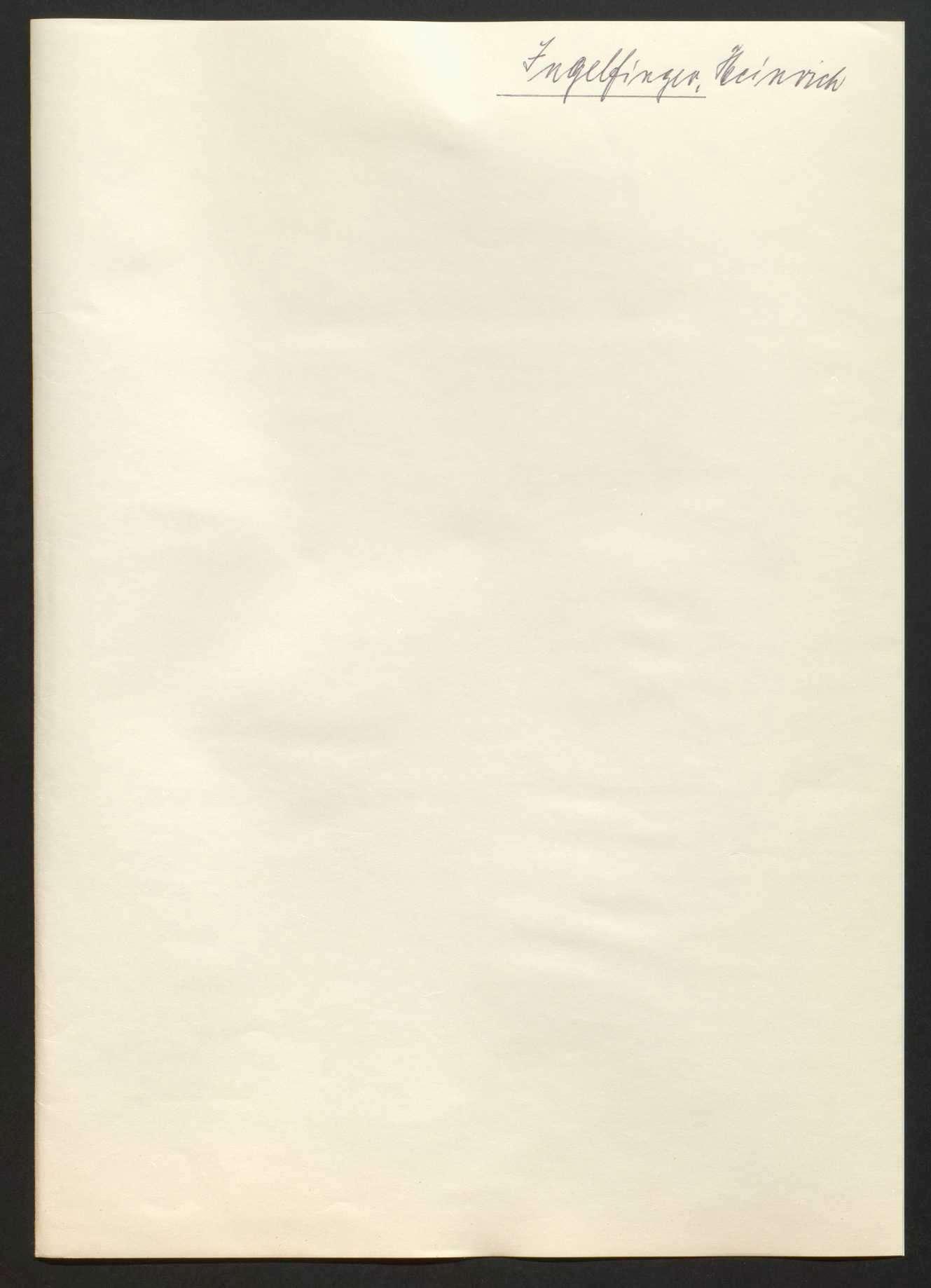 Gnadensachen (Buchstabe J - L), Bild 1