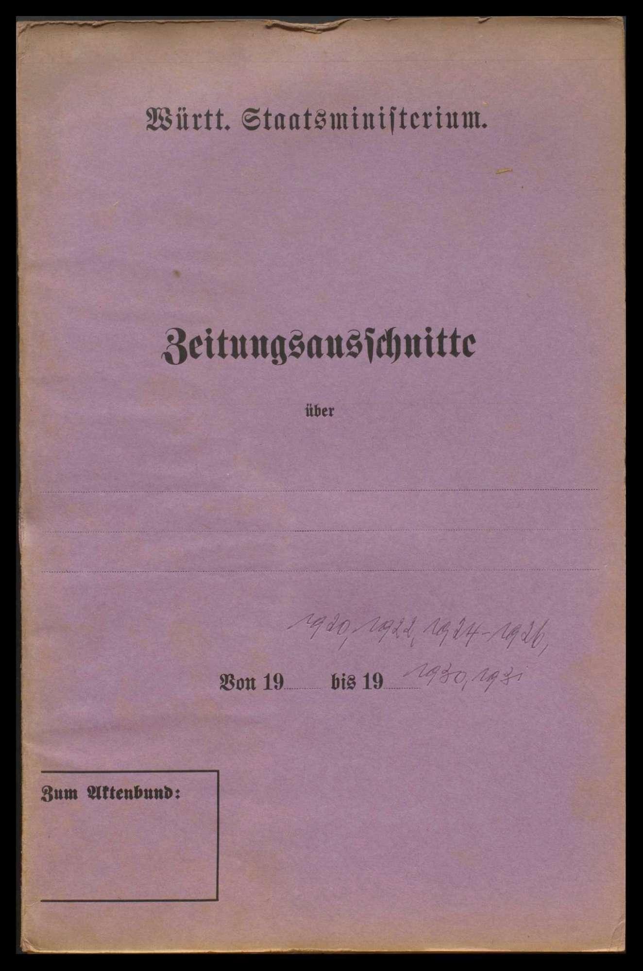 Württembergische Gesandtschaften (Allgemeines), Bild 2