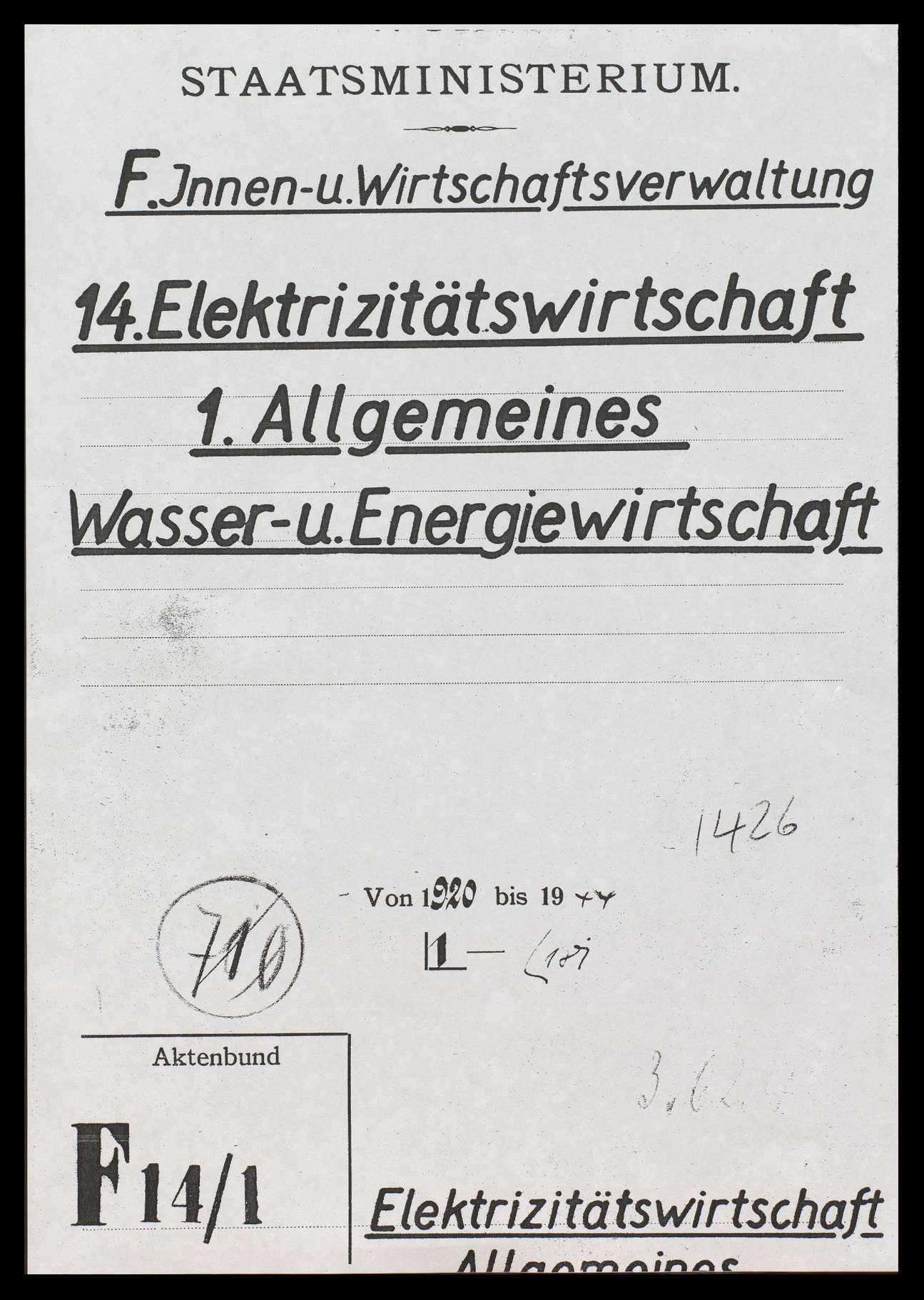 Elektrizitätswirtschaft, vor allem in Württemberg, Bild 1