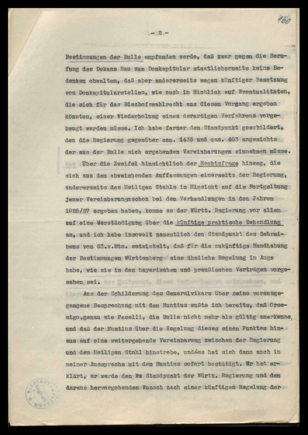 Bischöfliches Ordinariat und Bischof in Rottenburg (mit vielen Zeitungsausschnitten), Bild 3