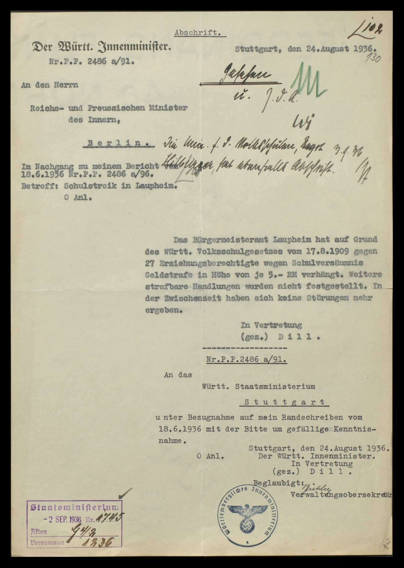 Allgemeine Volksschulfragen, Bild 3