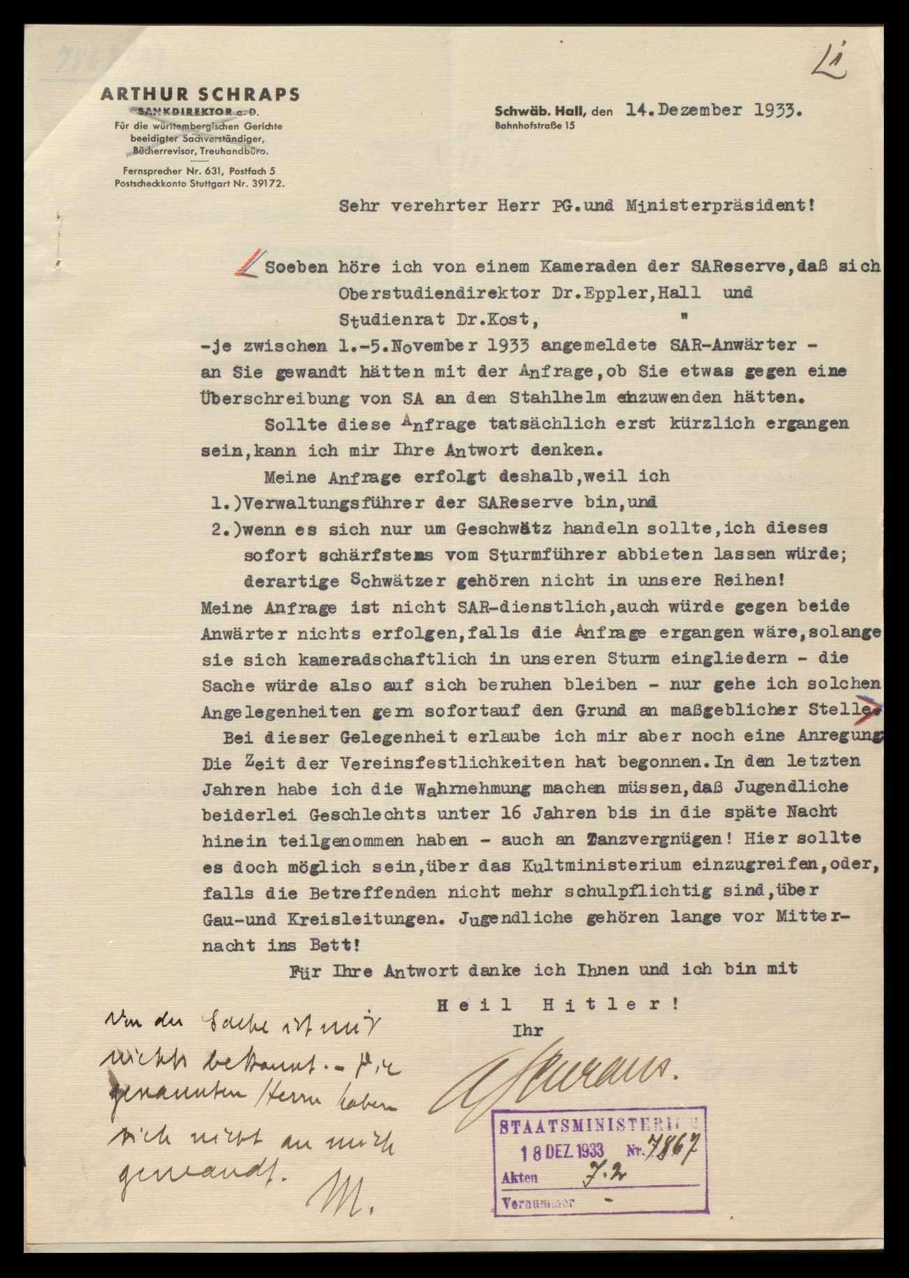 Eingaben nationaler und völkischer Verbände, Bild 2