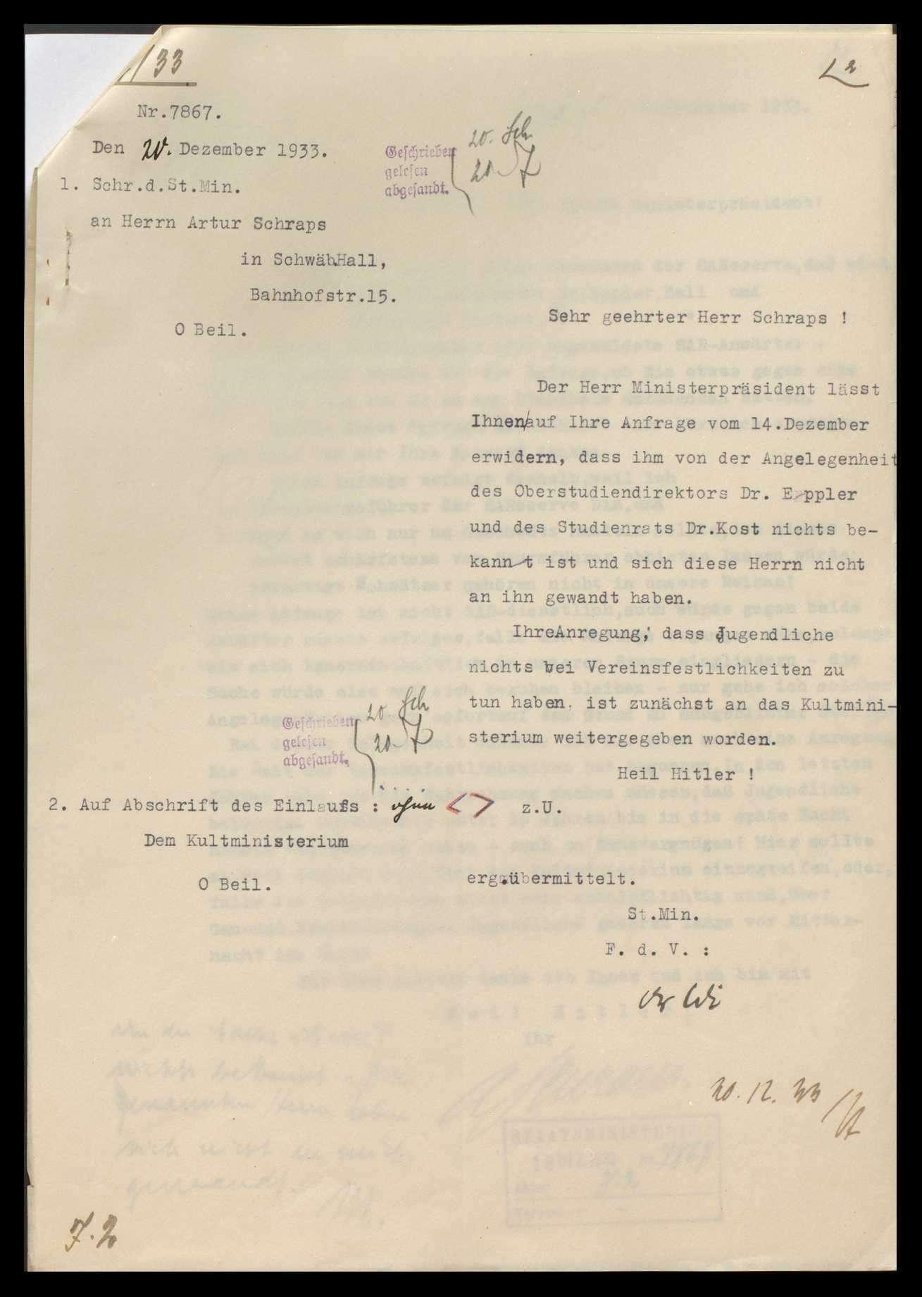 Eingaben nationaler und völkischer Verbände, Bild 3