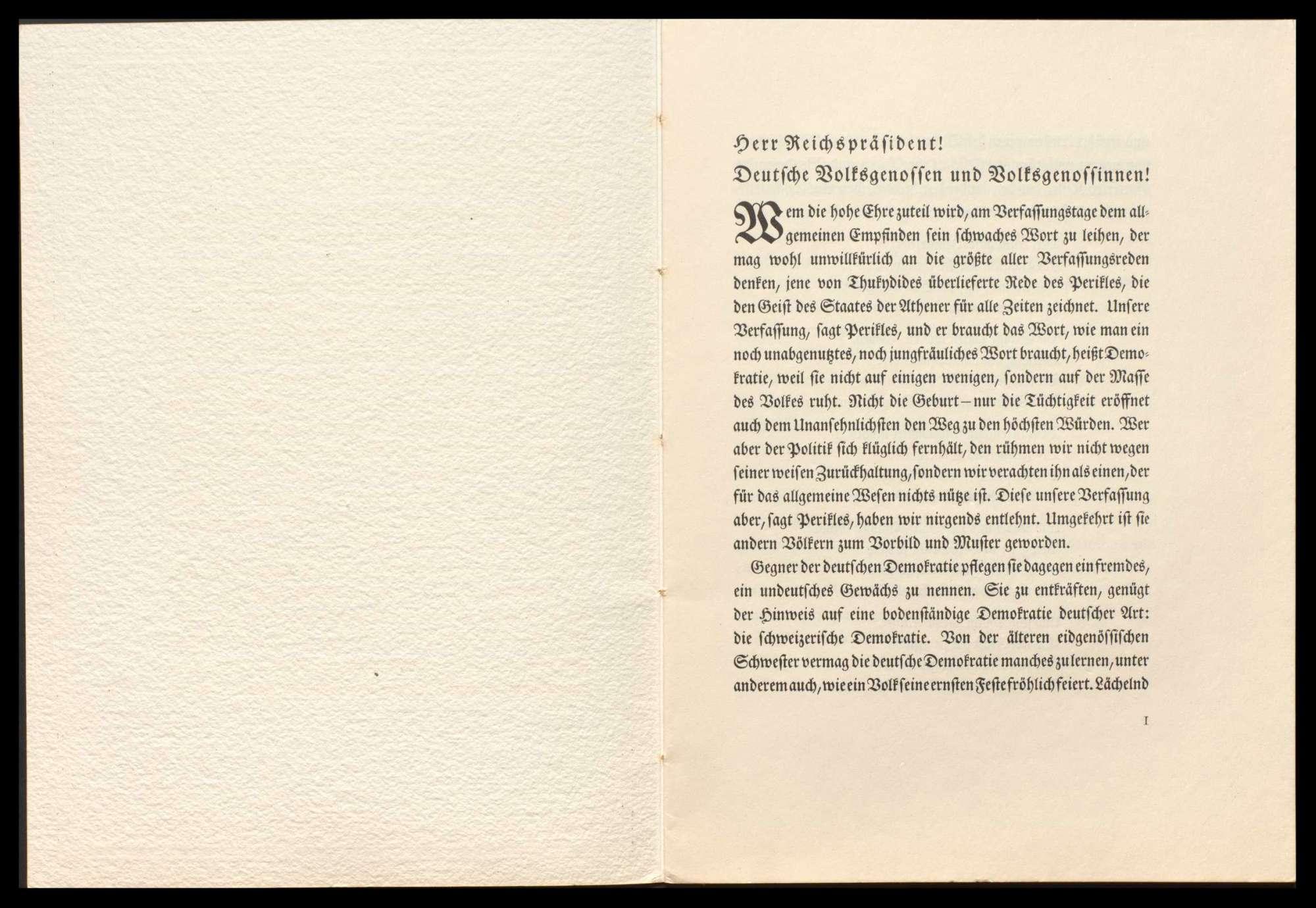 Abhaltung von Feiern zum Verfassungstag 1924-1928, Bild 3