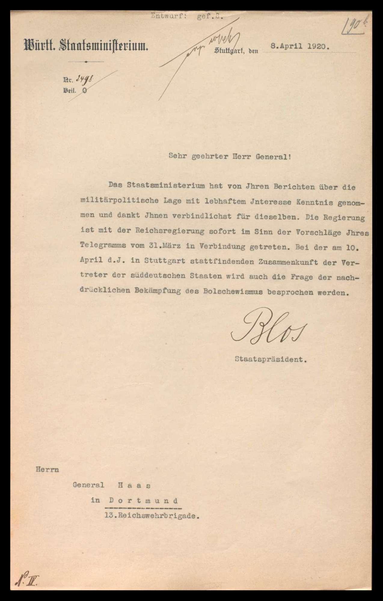 Kapp-Putsch, Ausrufung des Generalstreiks und Aufruhr im Ruhrgebiet, Bild 2