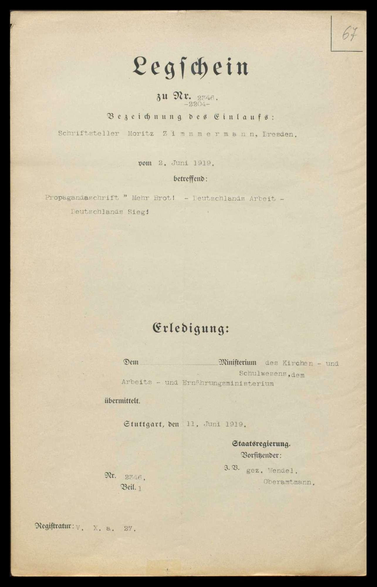 Reichszentrale für Heimatdienst, Landesabteilung Württemberg-Hohenzollern, Bild 2
