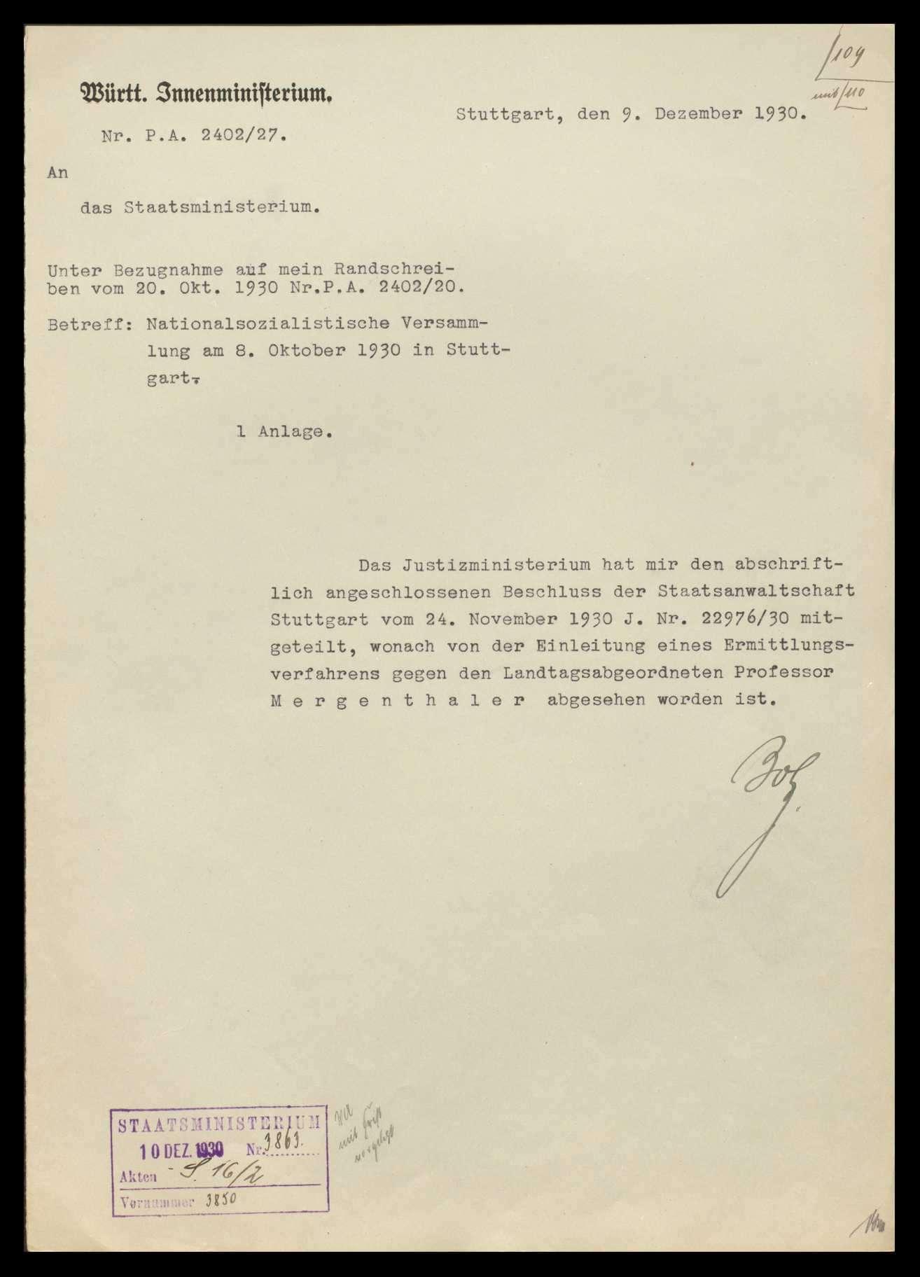 Versammlungen, Agitationen und andere Tätigkeiten der Nationalsozialisten, Bild 3