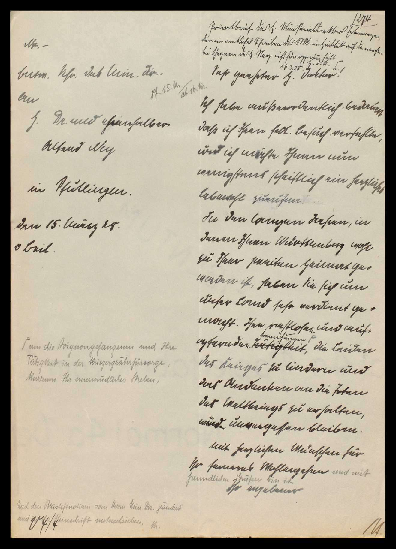 Bemühungen um Freilassung der kriegsgerichtlich bestraften deutschen Kriegsgefangenen in Avignon und ihre Rückkehr, Bild 2