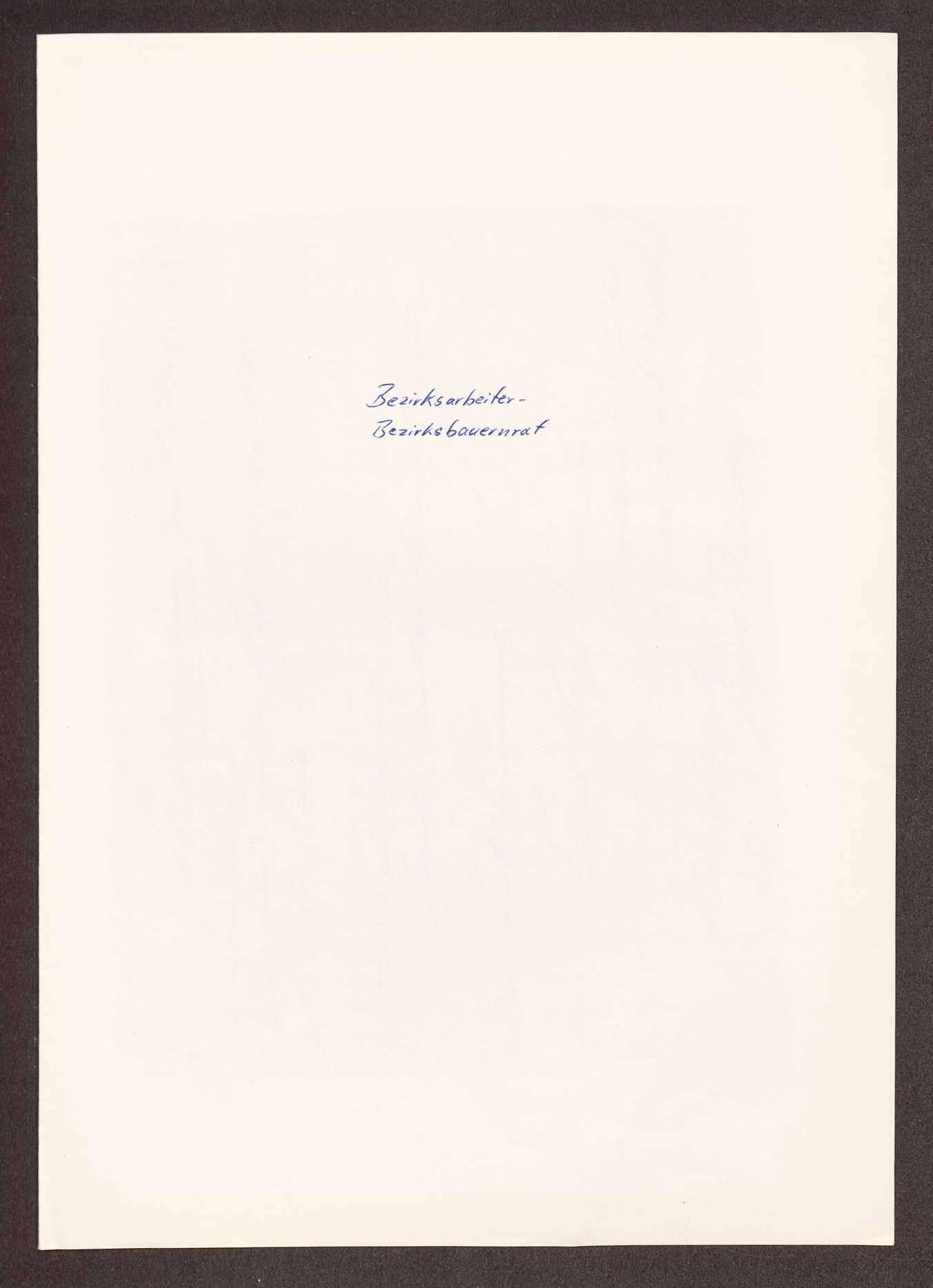 Wahl, Zusammensetzung und Auflösung der Arbeiter- und Bauernräte im Oberamt Brackenheim, Bild 1