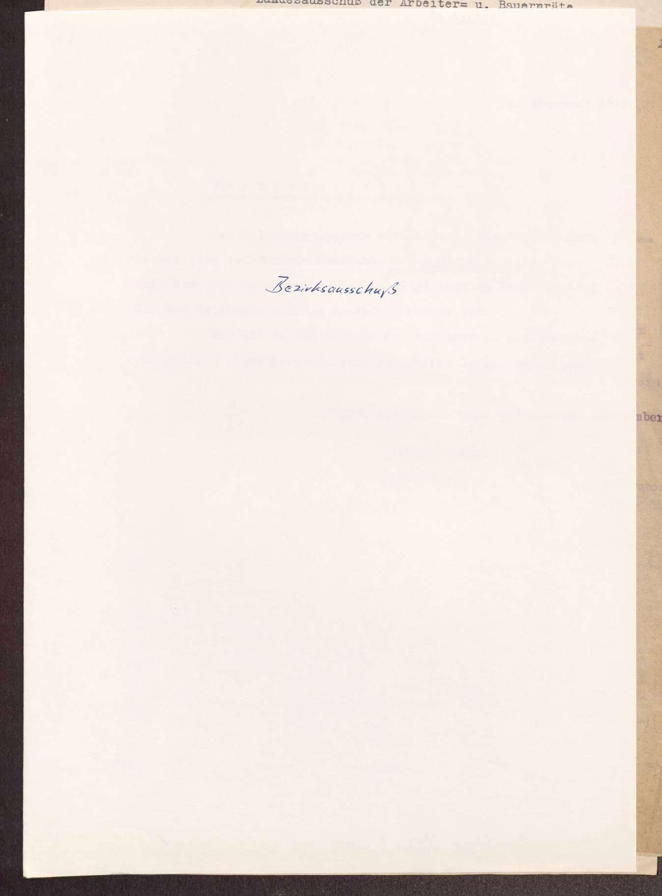 Wahl, Zusammensetzung und Auflösung der Arbeiter- und Bauernräte im Oberamt Ehingen, Bild 1