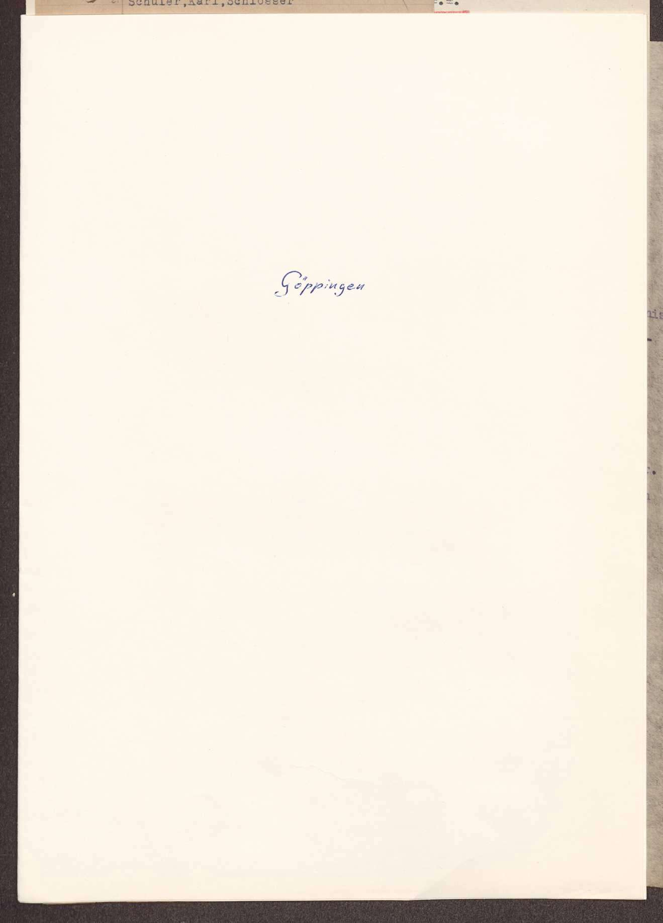 Wahl, Zusammensetzung und Auflösung der Arbeiter- und Bauernräte im Oberamt Göppingen, Bild 1