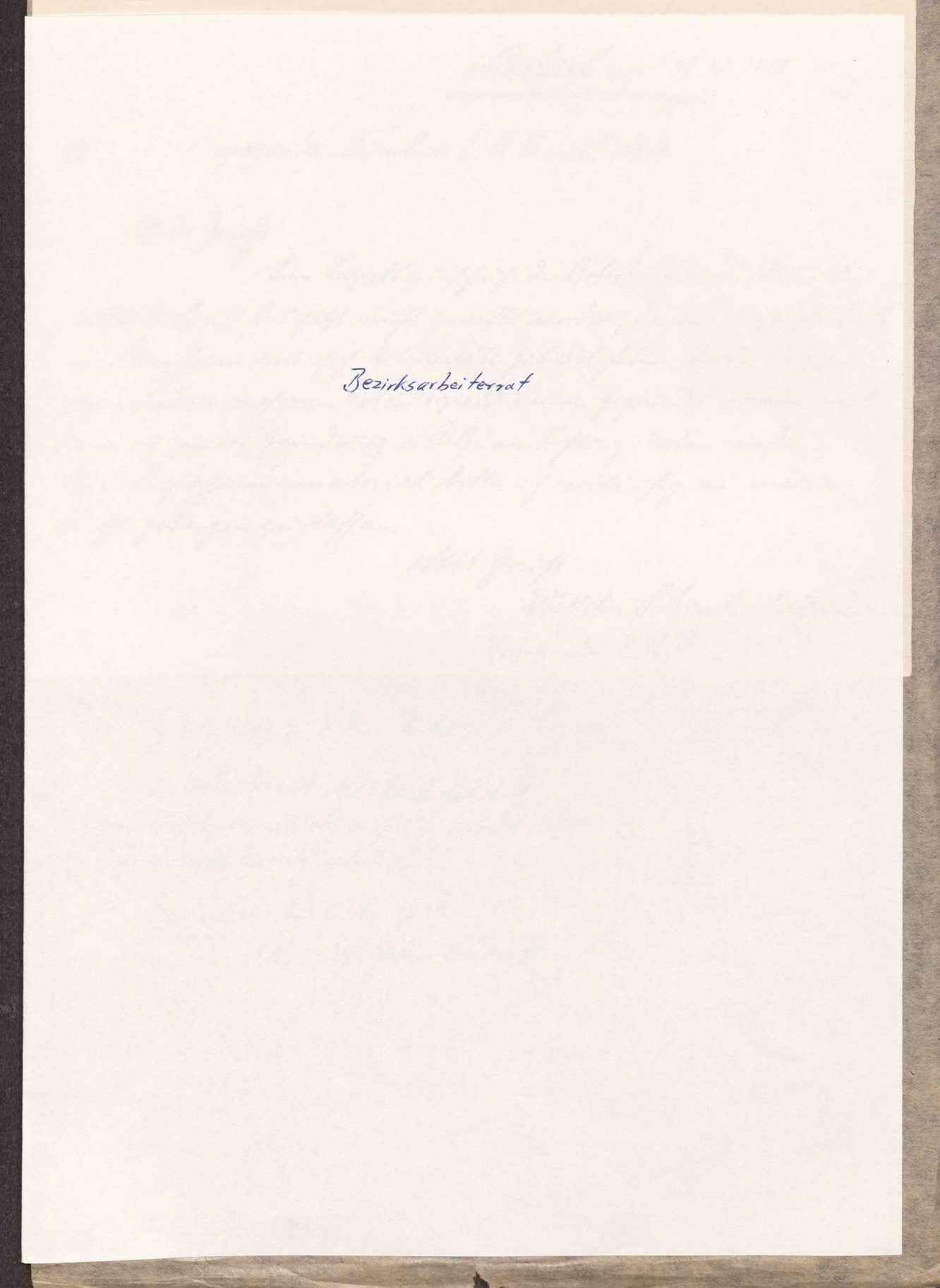 Wahl, Zusammensetzung und Auflösung der Arbeiter- und Bauernräte im Oberamt Marbach, Bild 1
