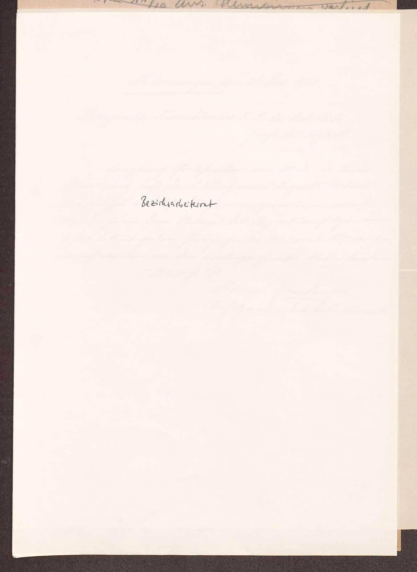 Wahl, Zusammensetzung und Auflösung der Arbeiter- und Bauernräte im Oberamt Münsingen, Bild 1