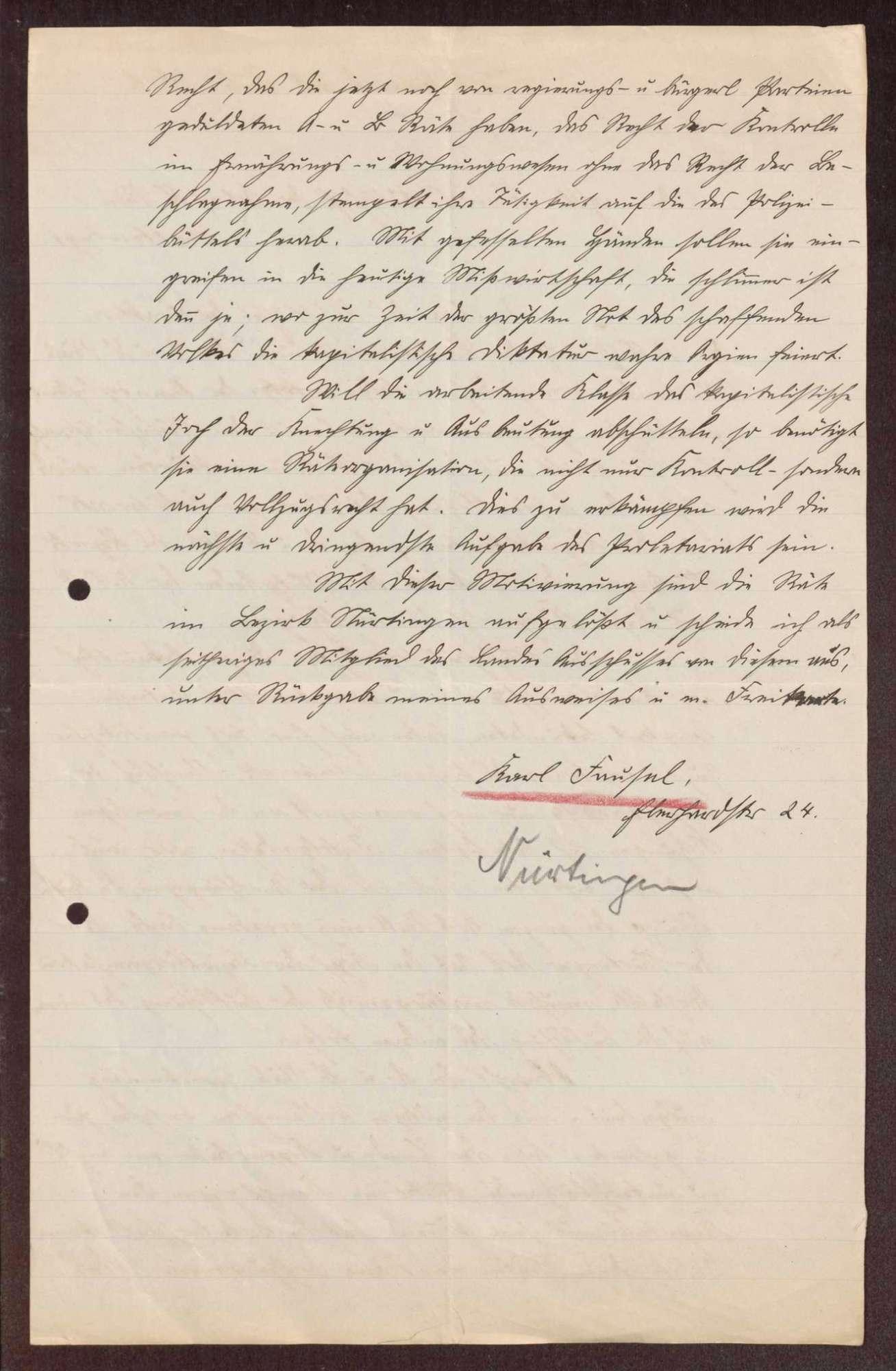 Wahl, Zusammensetzung und Auflösung der Arbeiter- und Bauernräte im Oberamt Nürtingen, Bild 3