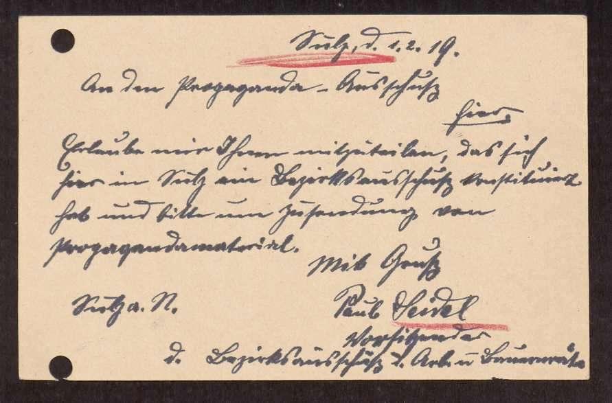 Wahl, Zusammensetzung und Auflösung der Arbeiter- und Bauernräte im Oberamt Sulz, Bild 3