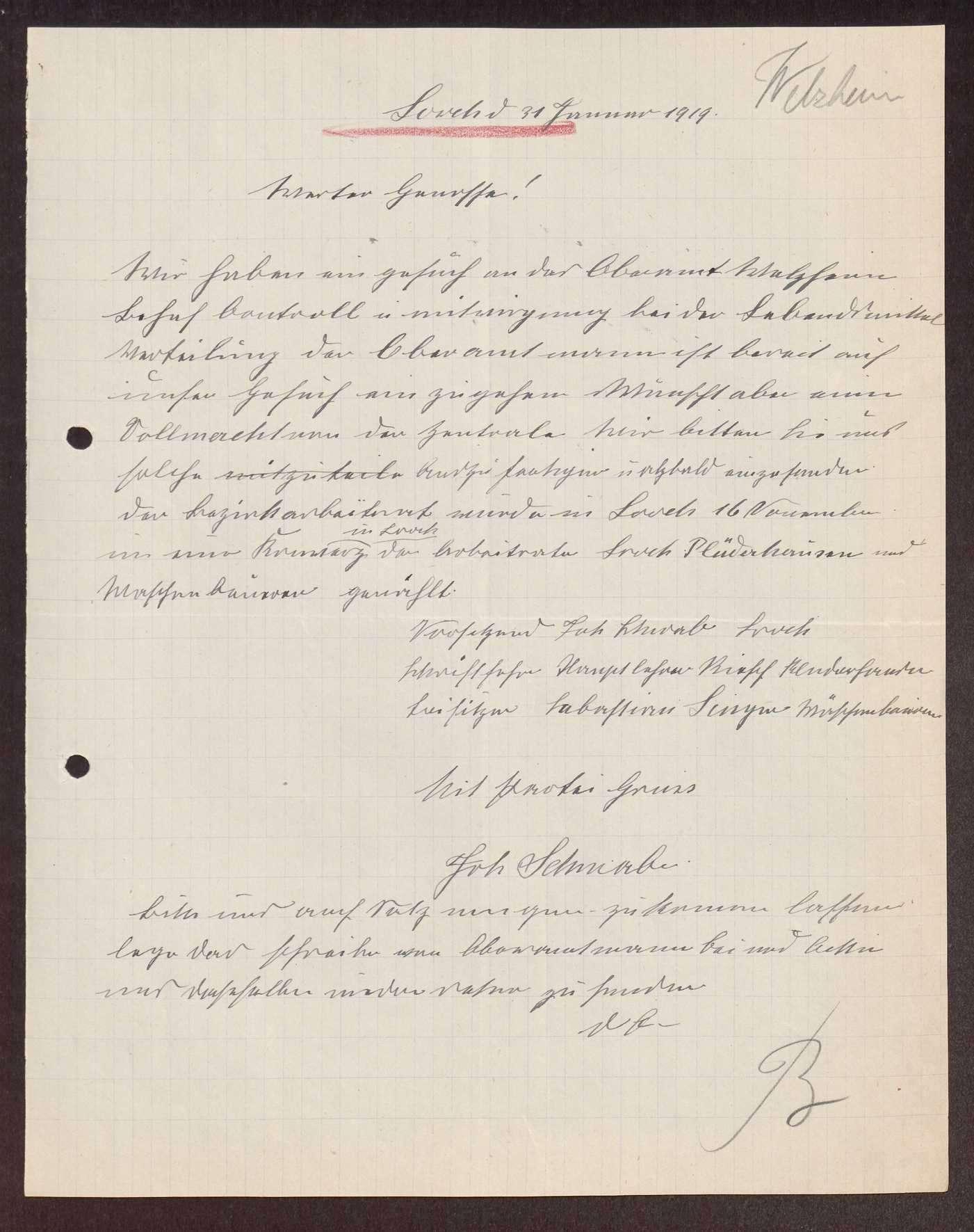 Wahl, Zusammensetzung und Auflösung der Arbeiter- und Bauernräte im Oberamt Welzheim, Bild 2