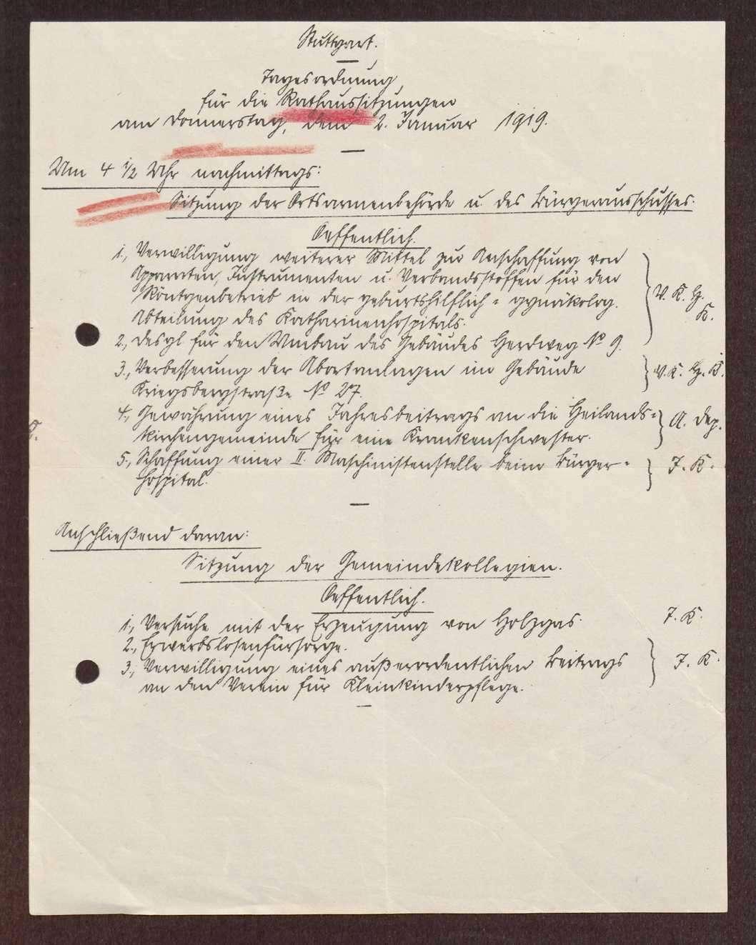 Ausübung und Verweigerung der Kontroll- und Mitwirkungsbefugnisse der Arbeiter- und Bauernräte in den Oberämtern und Gemeinden, Bild 3