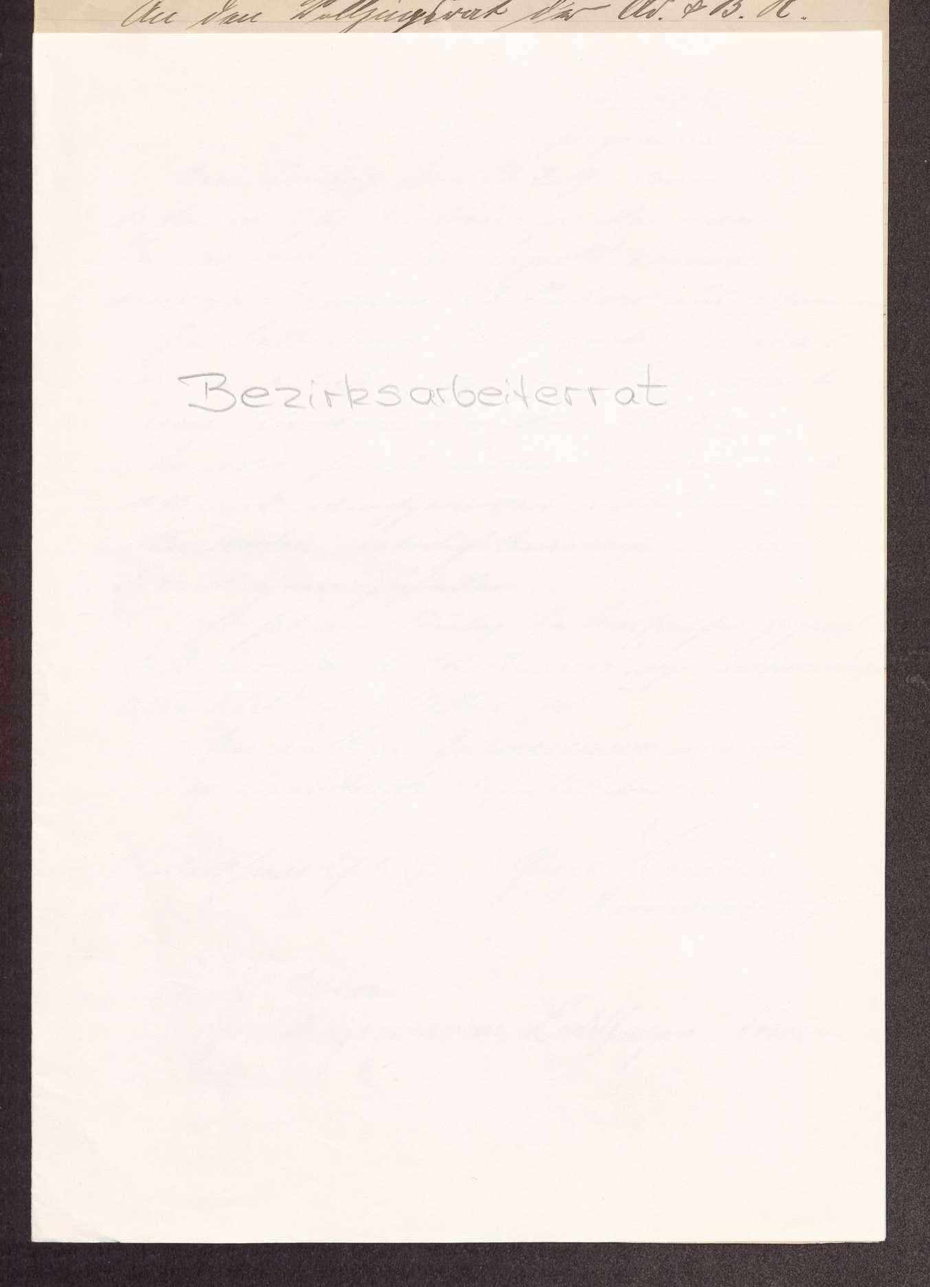 Finanzierung und Rechnungslegung örtlicher Arbeiter- und Bauernräte im Oberamt Cannstatt, Bild 1