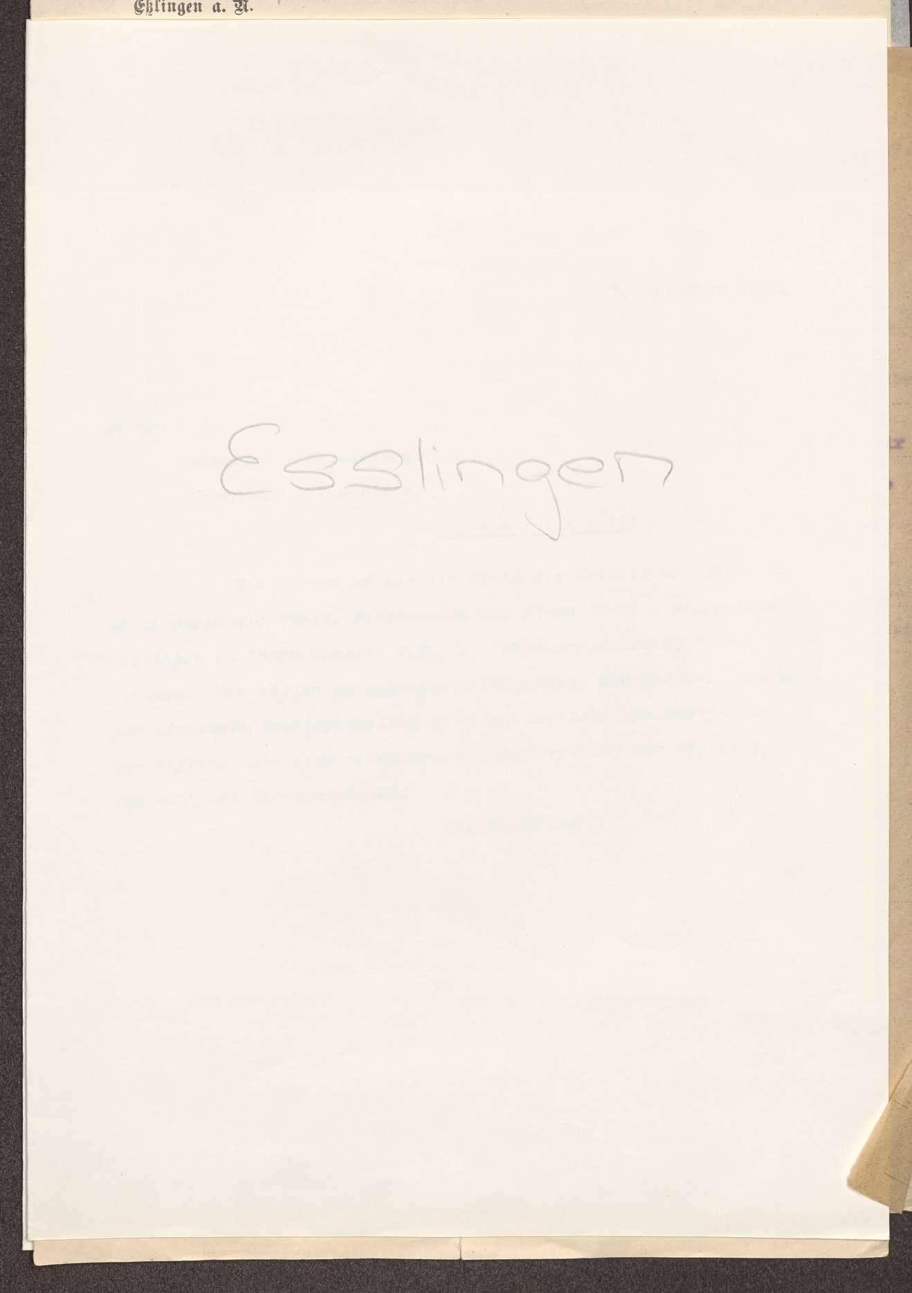 Finanzierung und Rechnungslegung örtlicher Arbeiter- und Bauernräte im Oberamt Esslingen, Bild 1