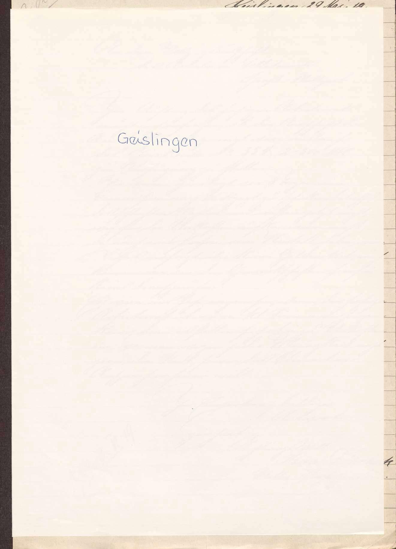 Finanzierung und Rechnungslegung örtlicher Arbeiter- und Bauernräte im Oberamt Geislingen, Bild 1