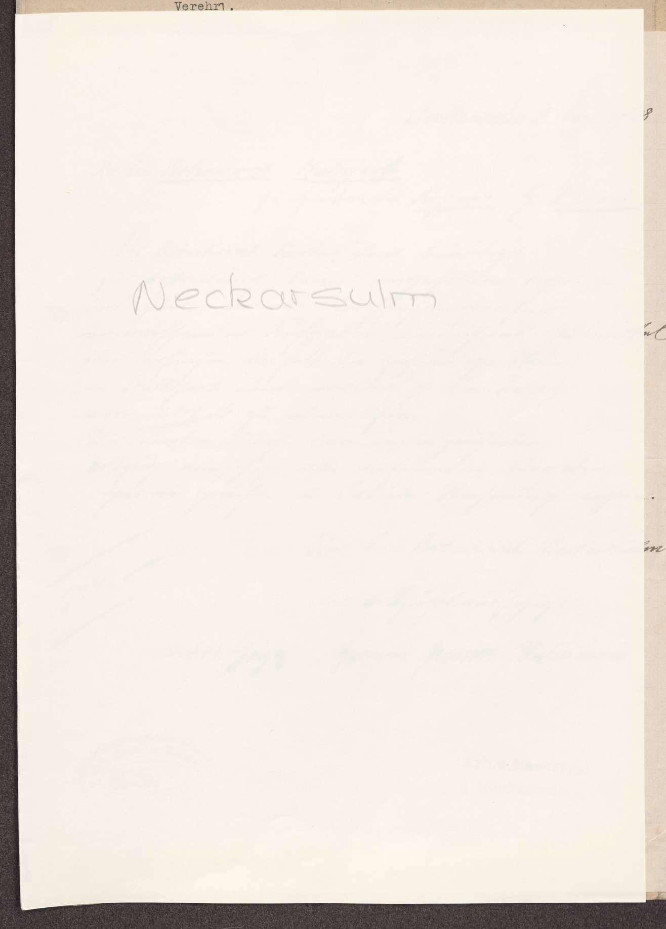 Finanzierung und Rechnungslegung örtlicher Arbeiter- und Bauernräte im Oberamt Neckarsulm, Bild 1