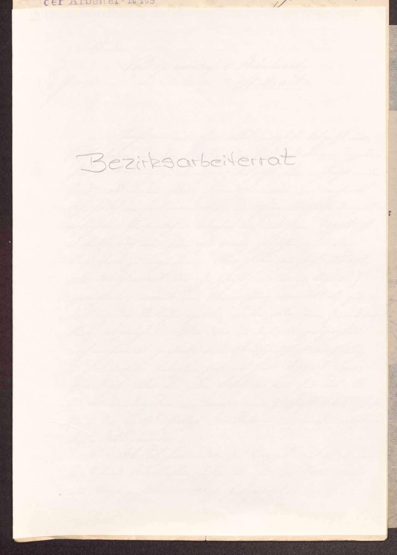 Finanzierung und Rechnungslegung örtlicher Arbeiter- und Bauernräte im Oberamt Neuenbürg, Bild 1