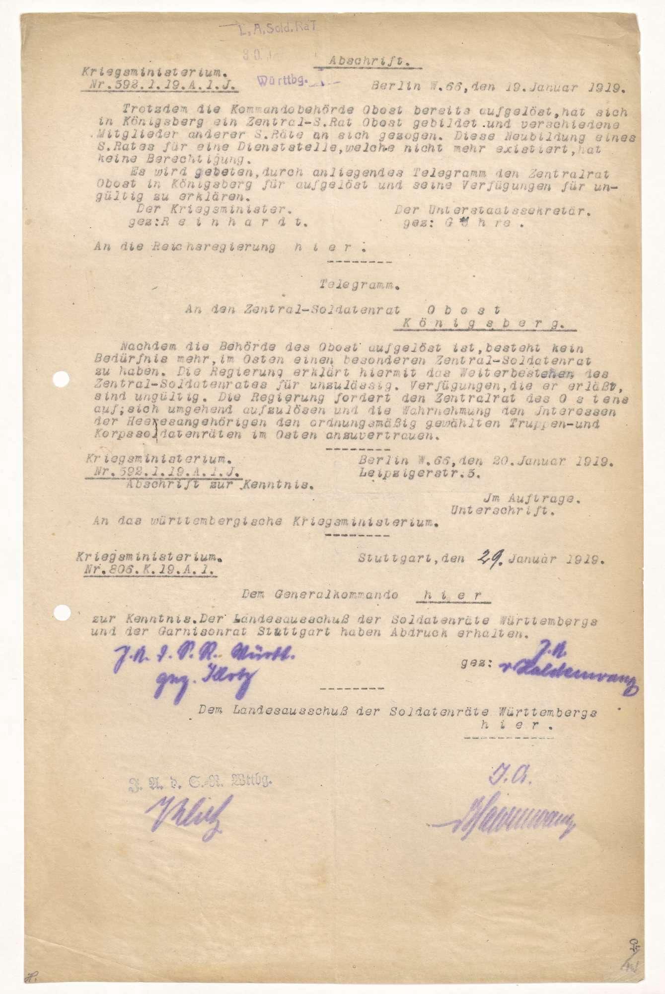 Berichterstattung über Konferenzen auswärtiger Korps-Soldatenräte, Bild 3