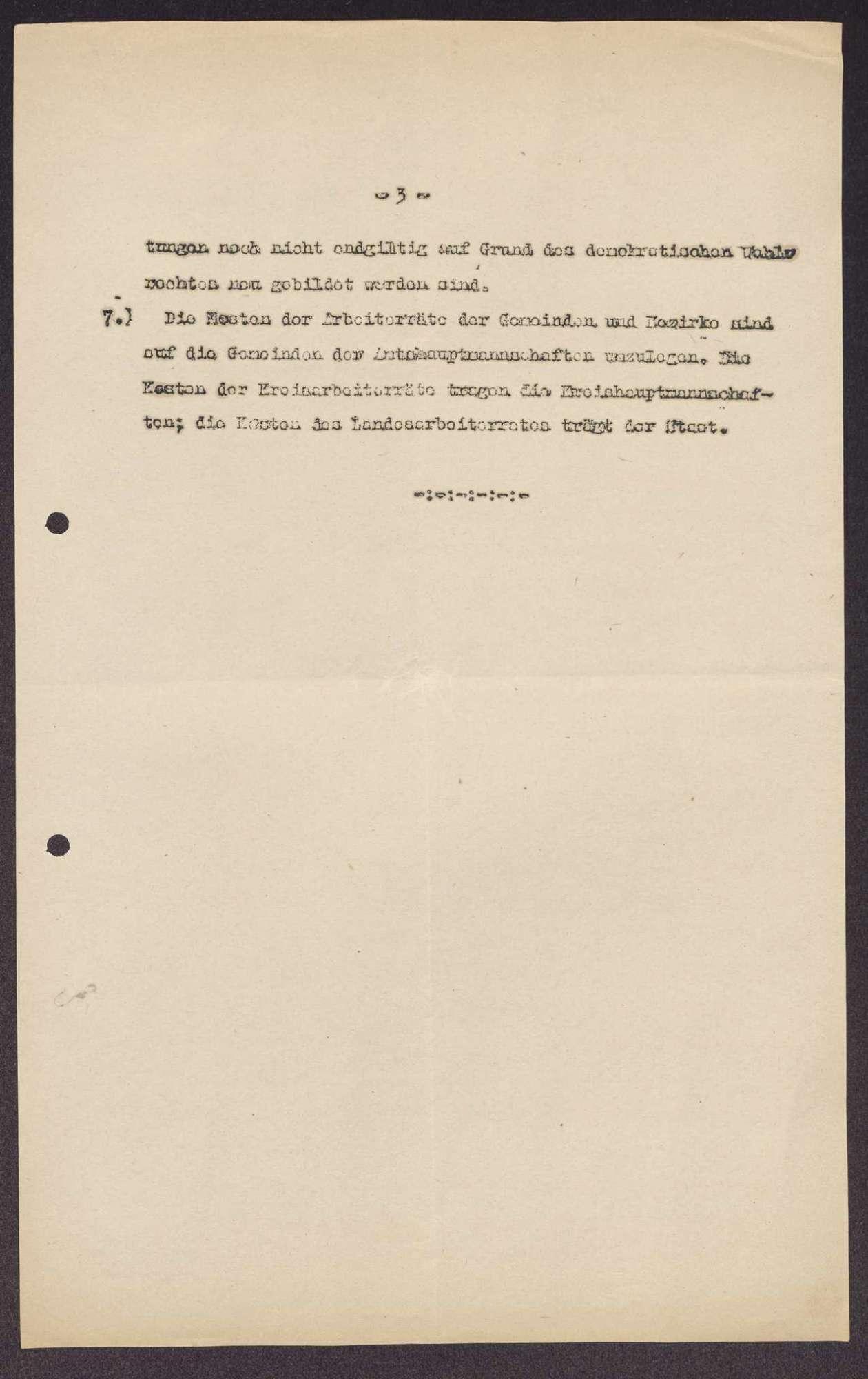 Organisationsentwurf für die Arbeiterräte, Kreisarbeiterräte und den Landessrat in Sachsen, Bild 3