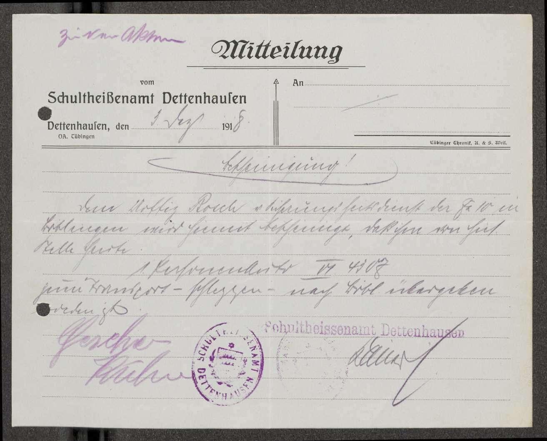 Meldungen des Sicherheitsdienstes über Beschlagnahmungen von Kraftfahrzeugen und Diebstähle im Bereich der Flieger-Ersatz-Abteilung 10, Bild 3