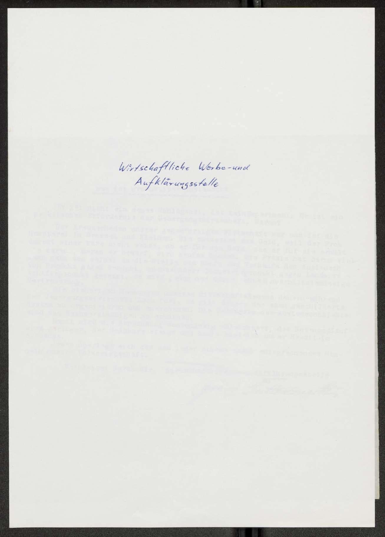 Herausgabe, Übersendung von Flugblättern an den Garnisonrat, Bild 2