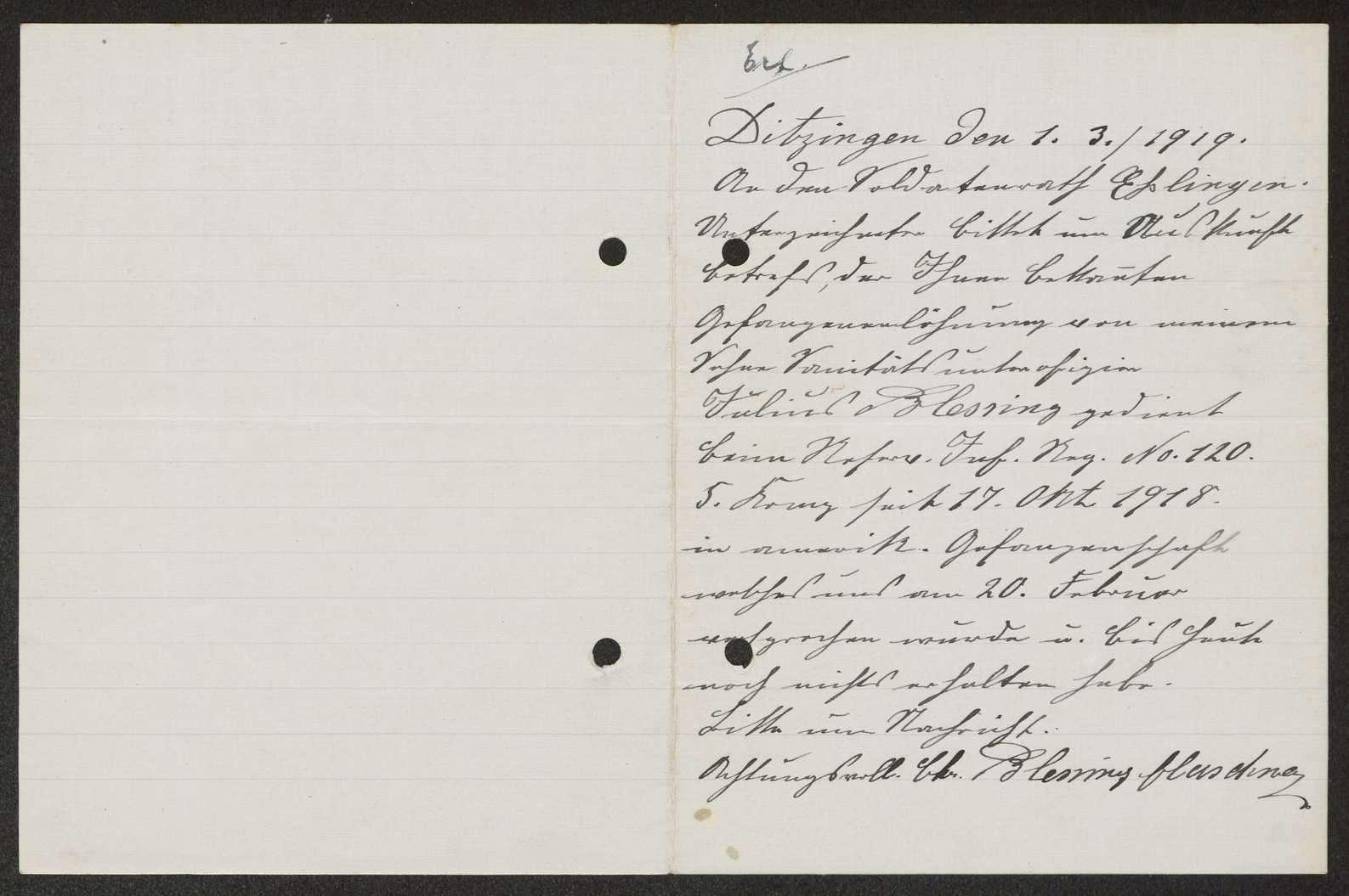 Regelung der Gefangenenlöhnung für einzelne Angehörige des Reserve-Infanterie-Regiments Nr. 120, Bild 3