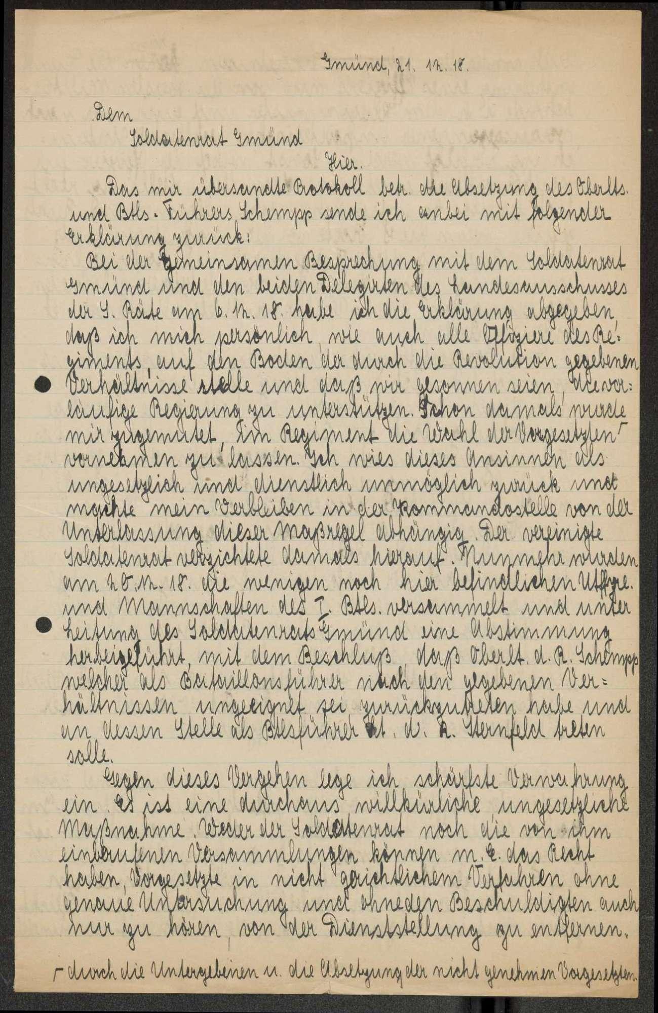 Ab- und Versetzung einzelner Offiziere und Militärbeamter, Bild 1