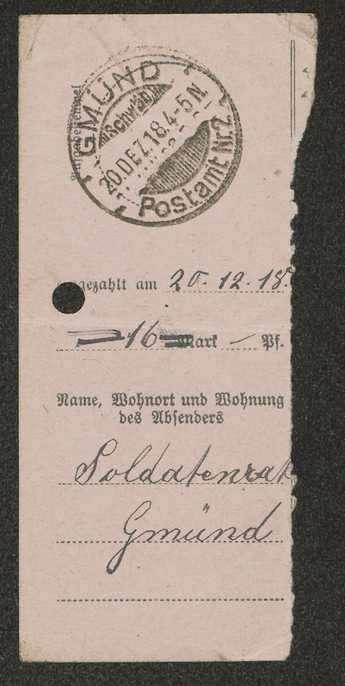Auszahlung von Futtergeld an Rittmeister, Freiherr von Hage in Dillingen, Bild 2