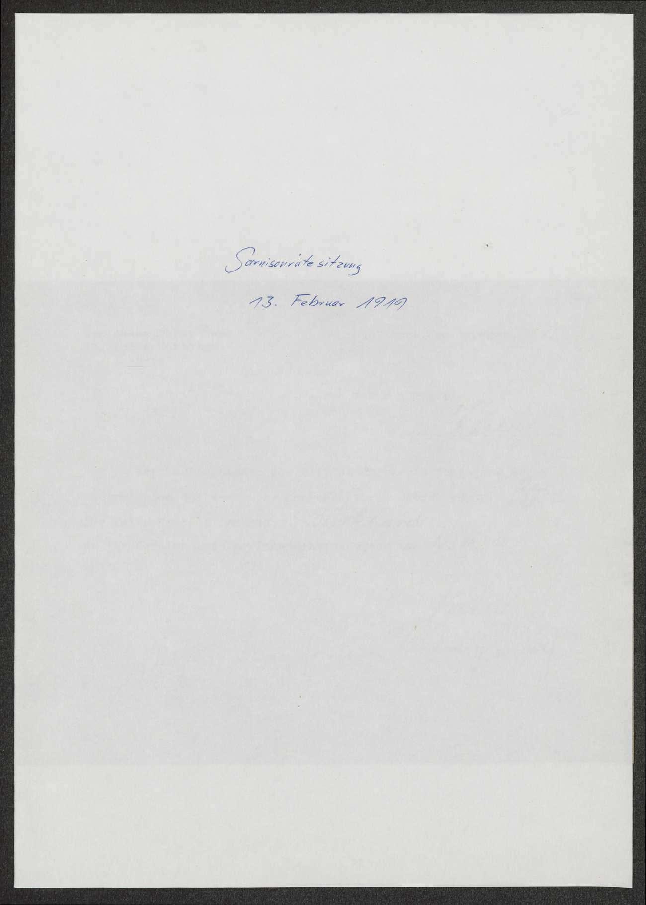Sitzungen der Vorsitzenden der württembergischen Garnisonräte, Bild 3