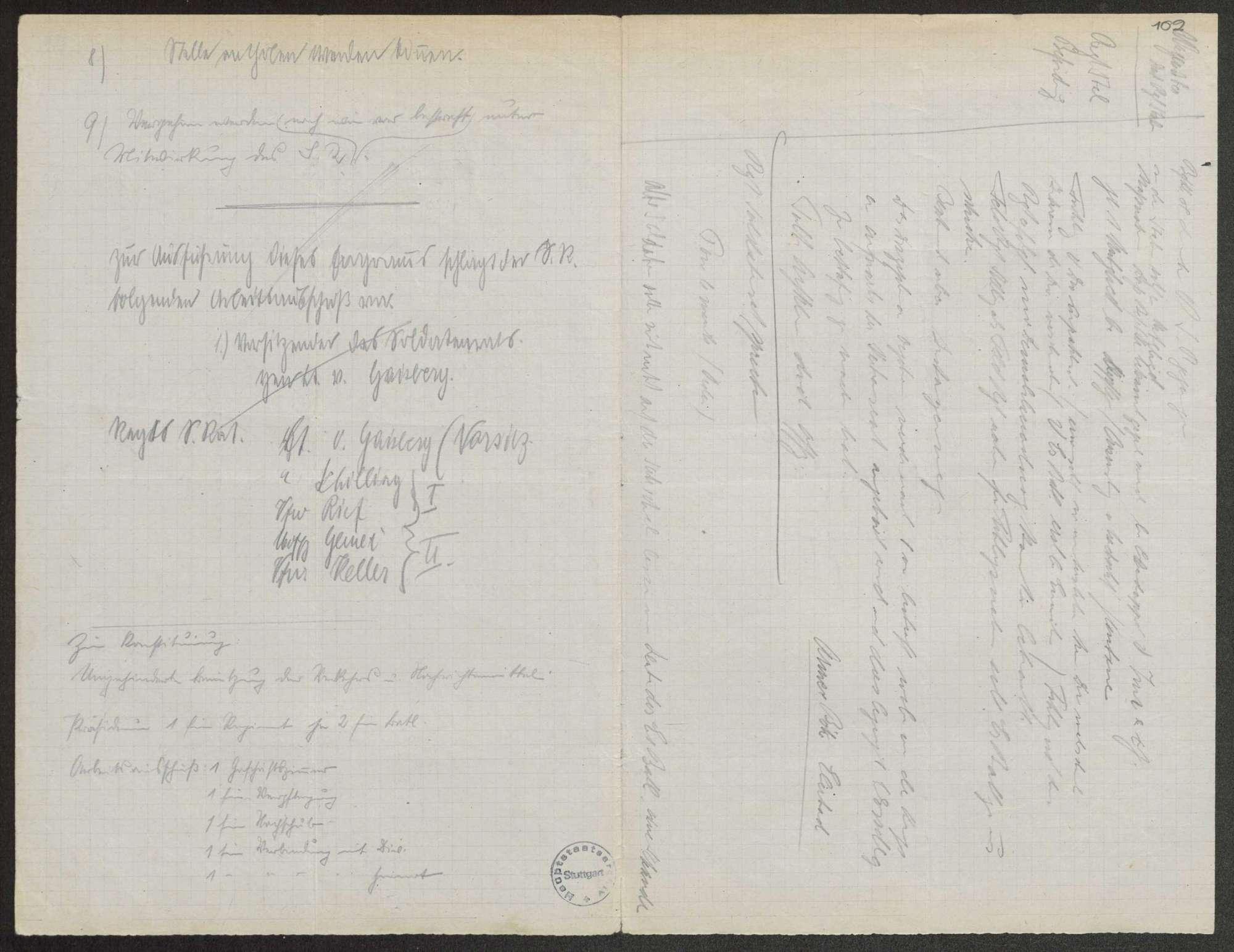 Sitzungsprotokolle des Soldatenrats des (Feld-)Gebirgsregiments, Bild 2