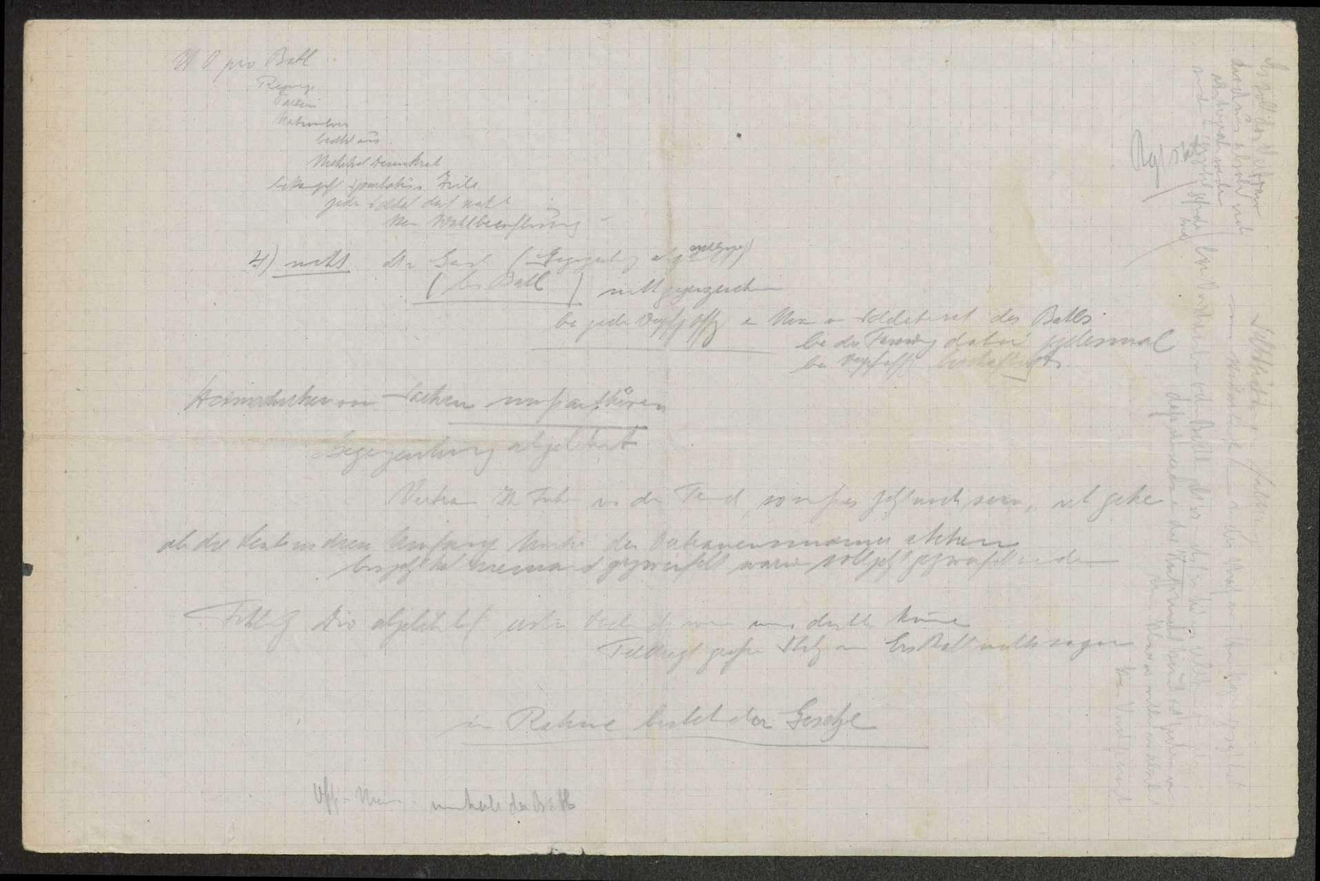 Sitzungsprotokolle des Soldatenrats des (Feld-)Gebirgsregiments, Bild 3