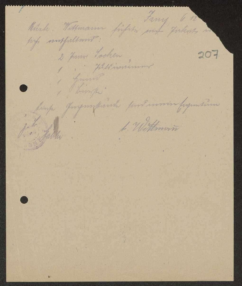 Beschlagnahme von Privateigentum durch Soldatenräte, Einzelfälle, Bild 1