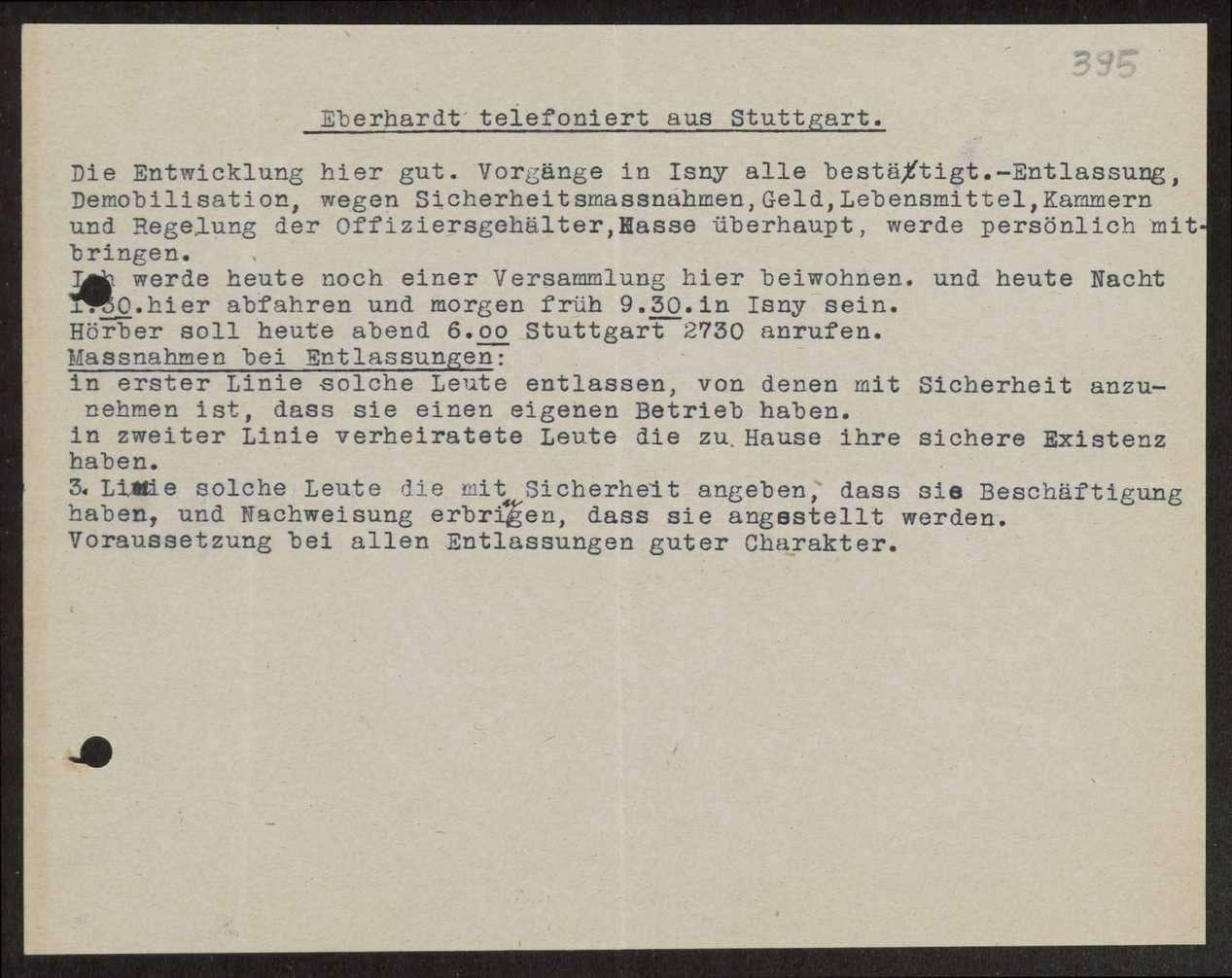 Allgemeine Bestimmungen über die Entlassung von Mannschaften des Gebirgsregiments, Bild 1