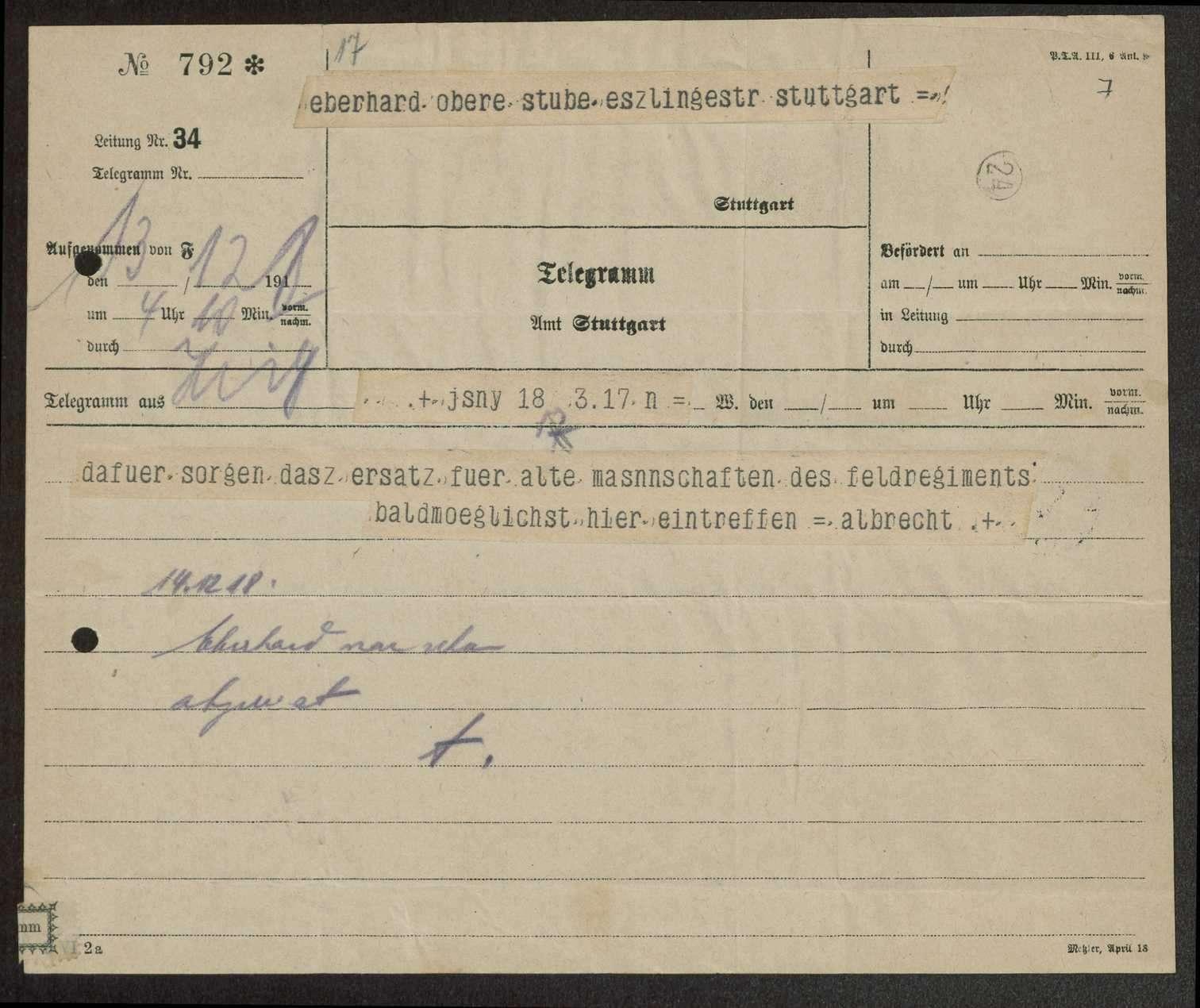 Allgemeine Bestimmungen über die Entlassung von Mannschaften des Gebirgsregiments, Bild 2