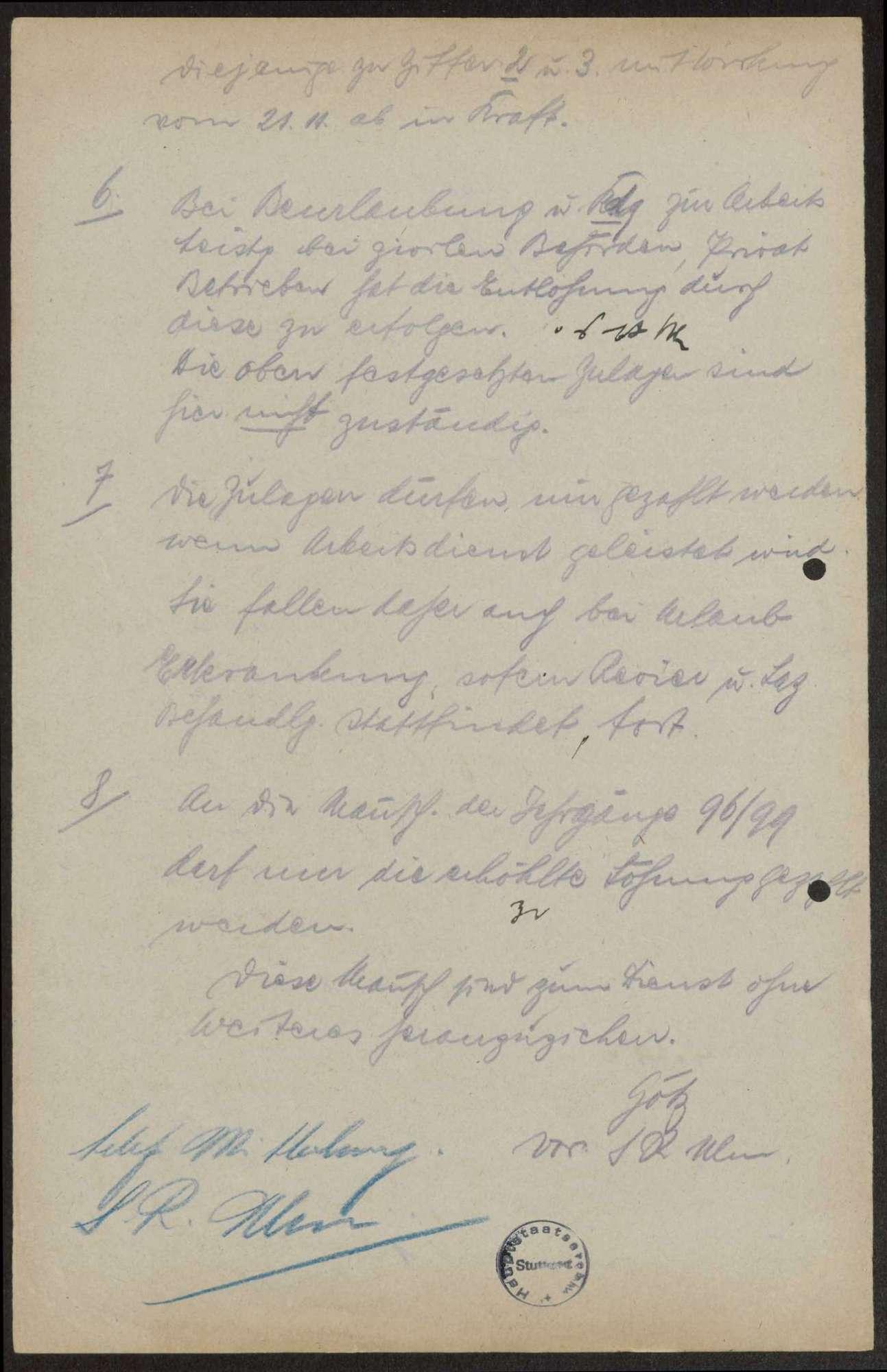 Festlegung der Löhnung und Zulagen für Offiziere und Mannschaften, Bild 2