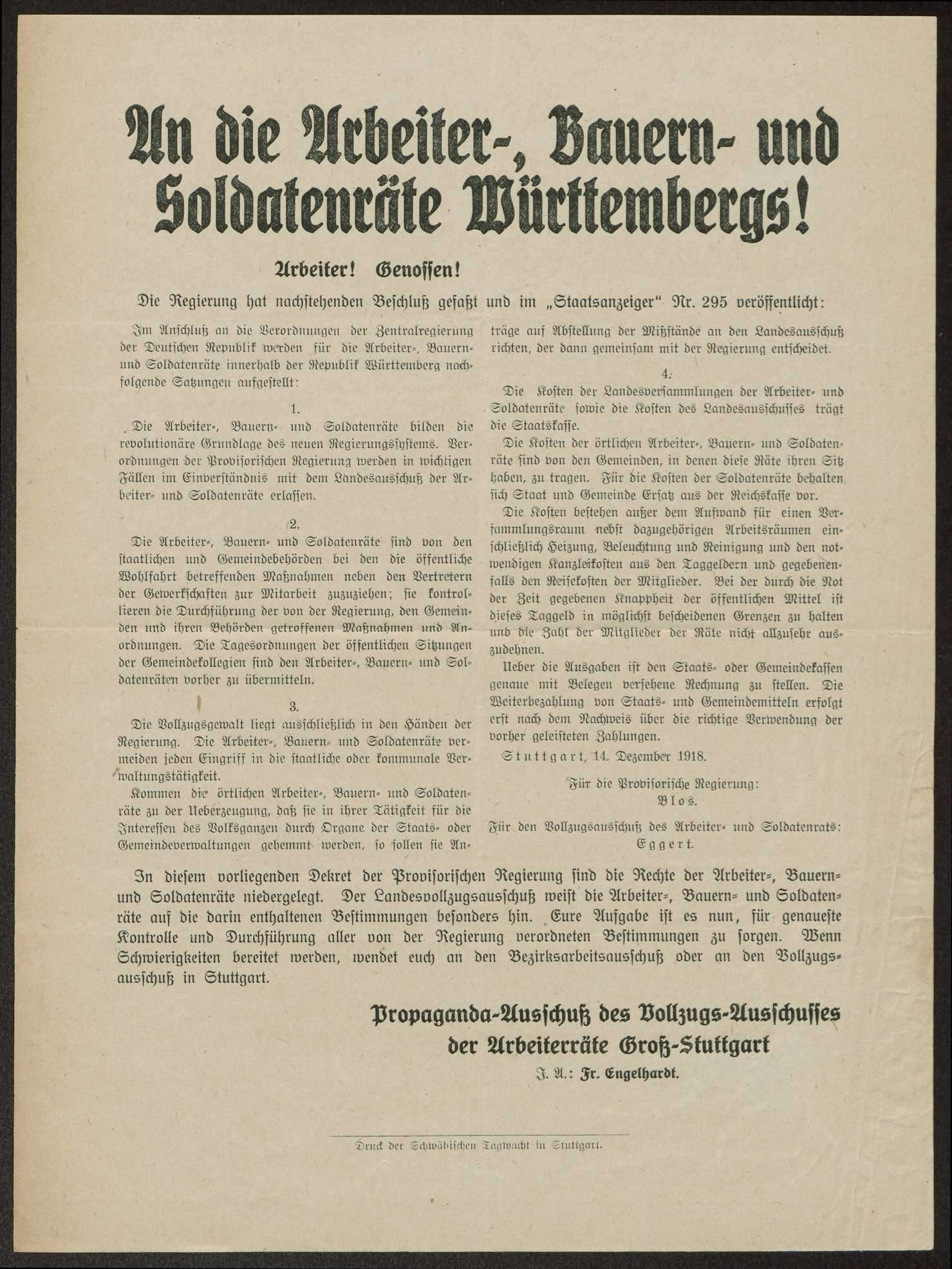Flugblätter, Bild 3