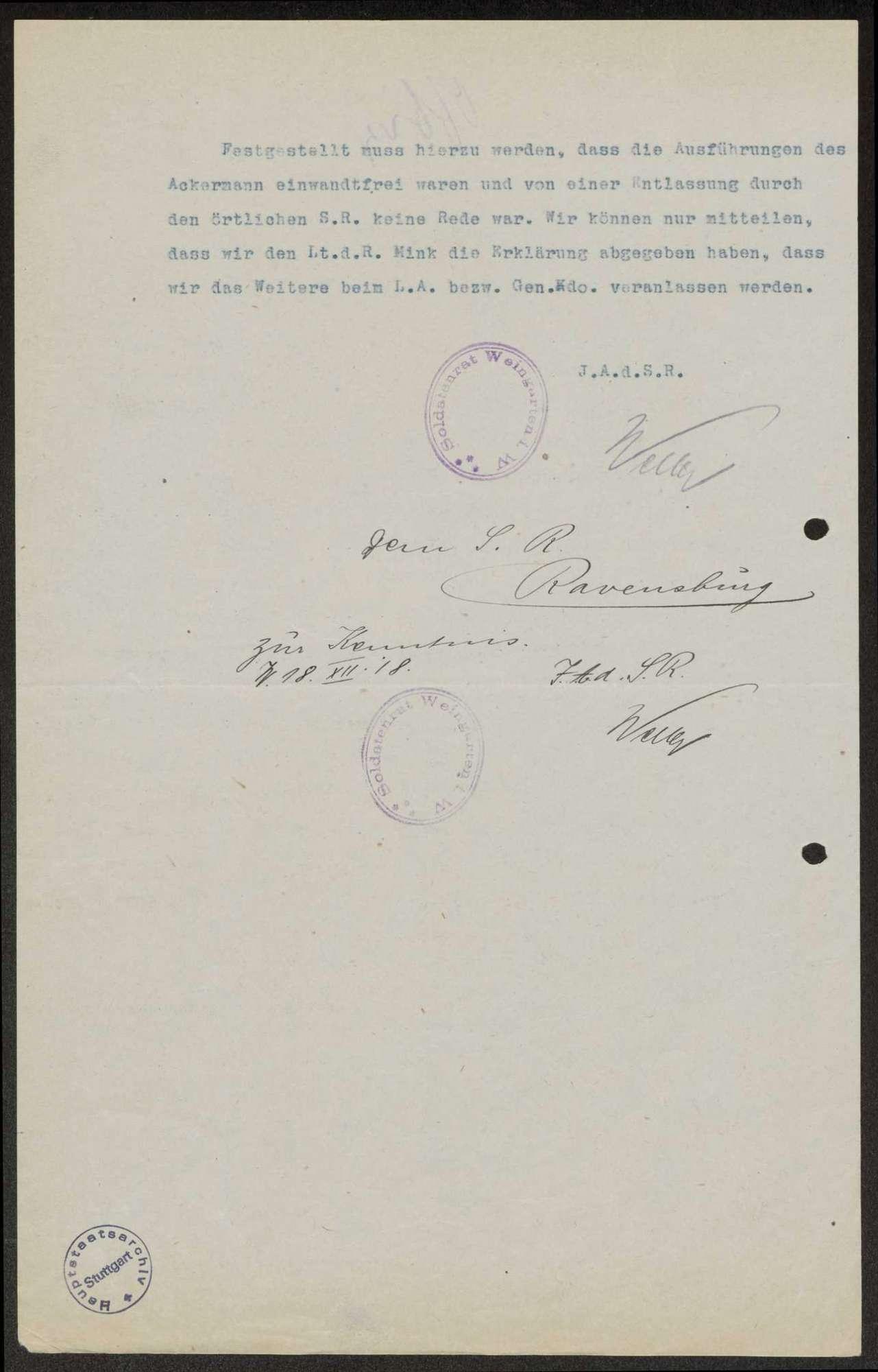Allgemeine Forderungen des Arbeiter- und Soldatenrats, Kompetenzen der Garnisonräte, Bild 3
